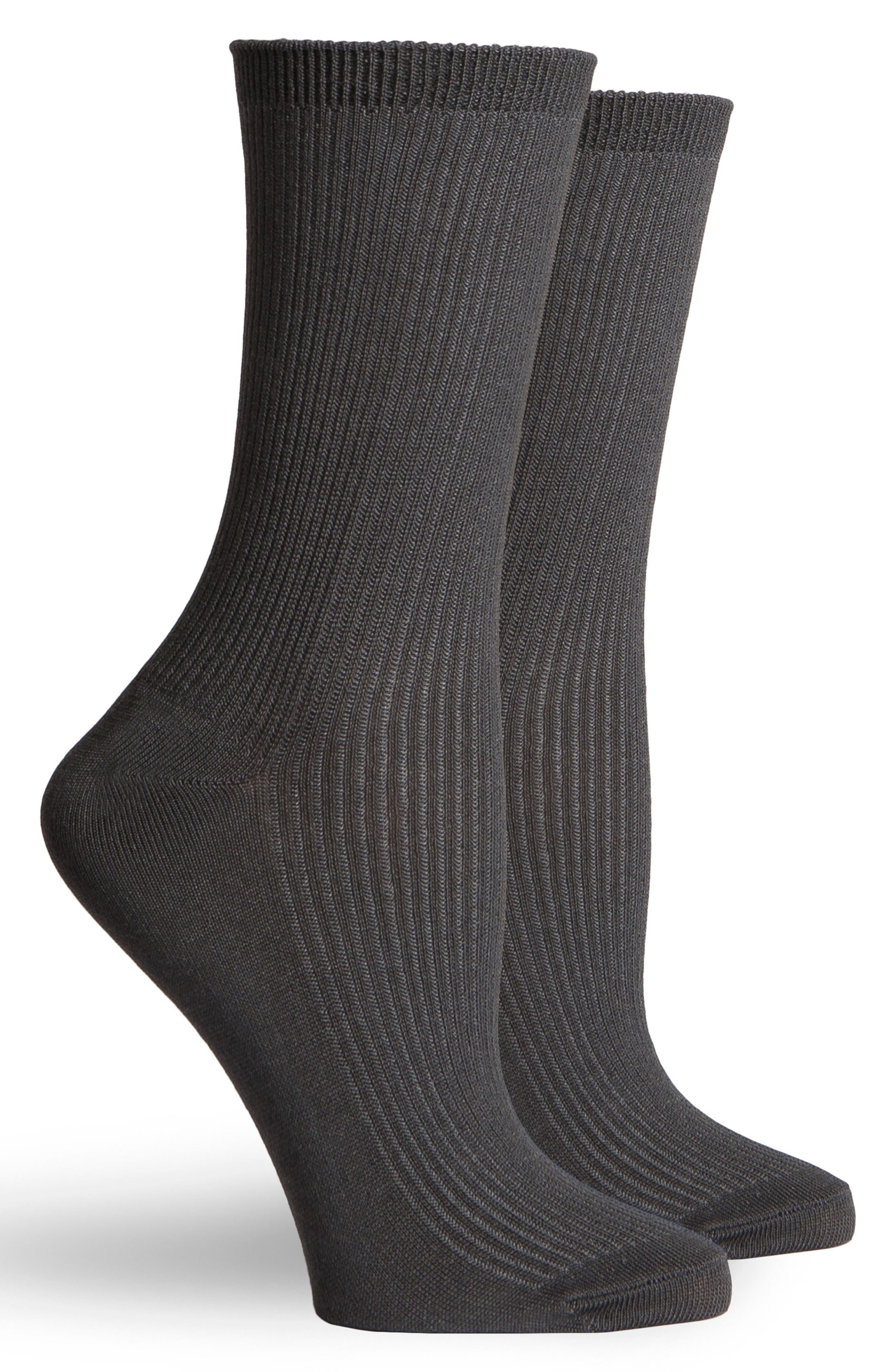 Nightingale Crew Socks,                             Alternate thumbnail 2, color,                             010
