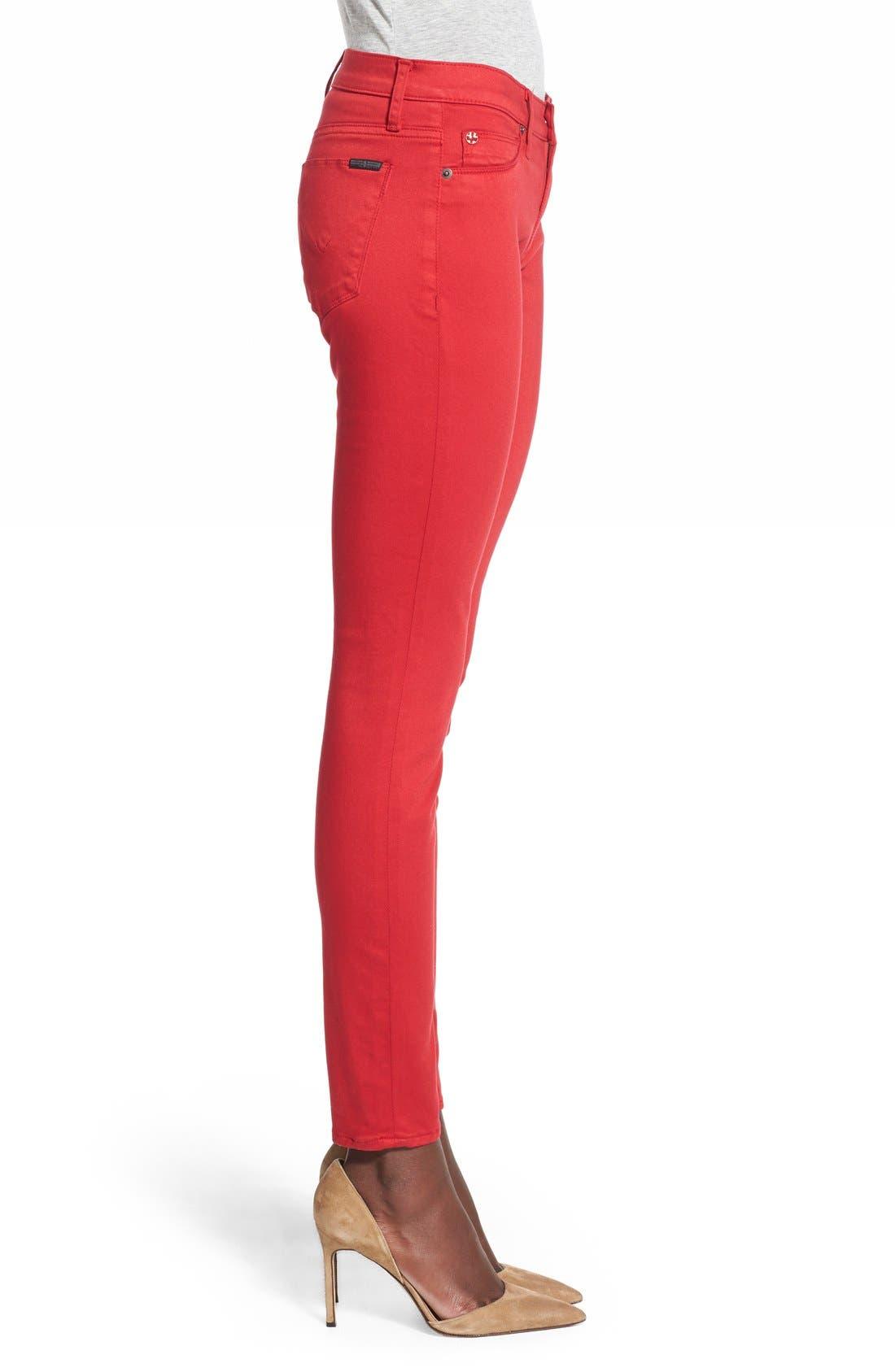 'Nico' Skinny Jeans,                             Alternate thumbnail 3, color,                             610