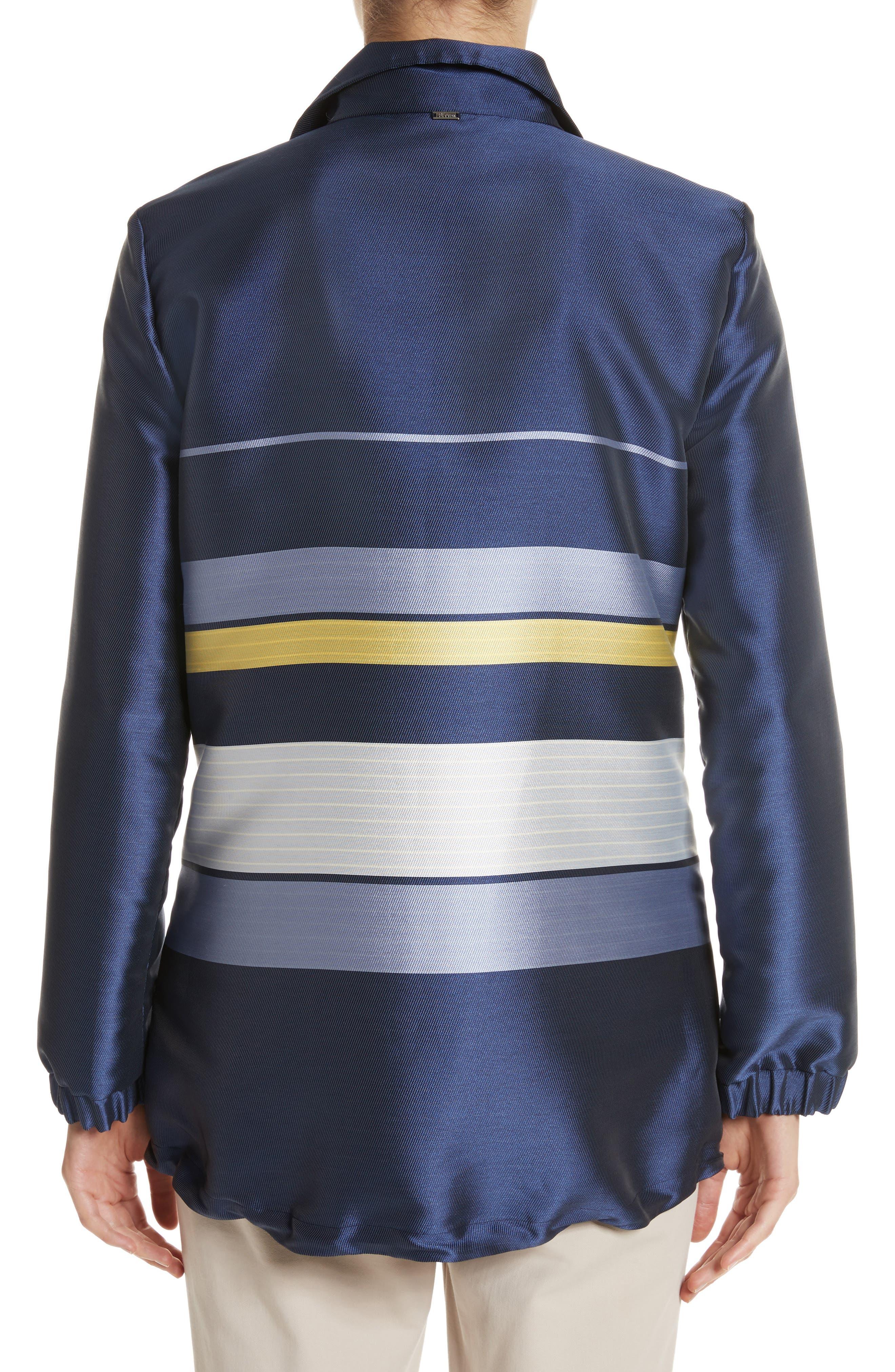 Double Face Stripe Twill Jacket,                             Alternate thumbnail 2, color,                             420