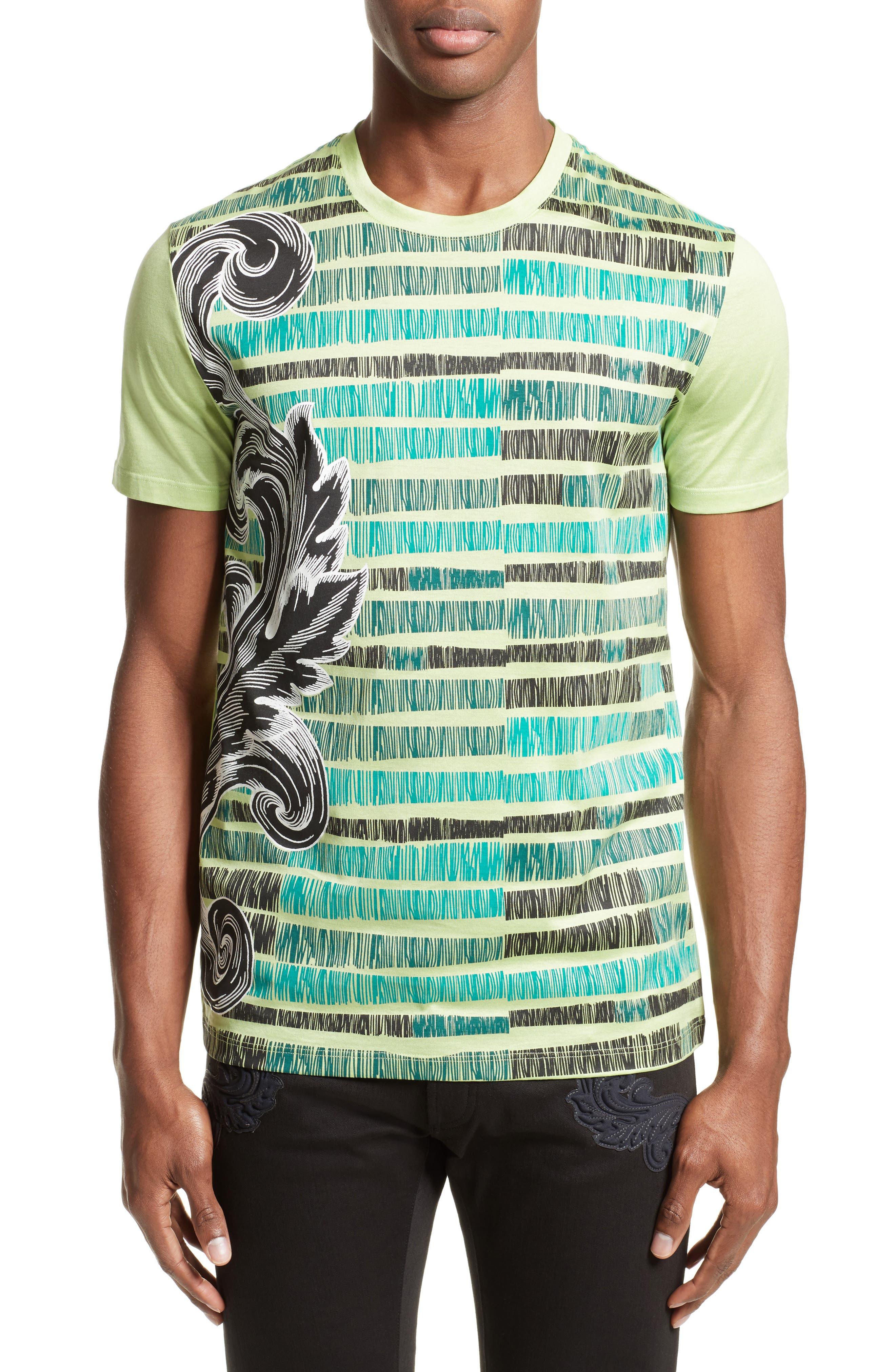 Sketch Baroque T-Shirt,                         Main,                         color,