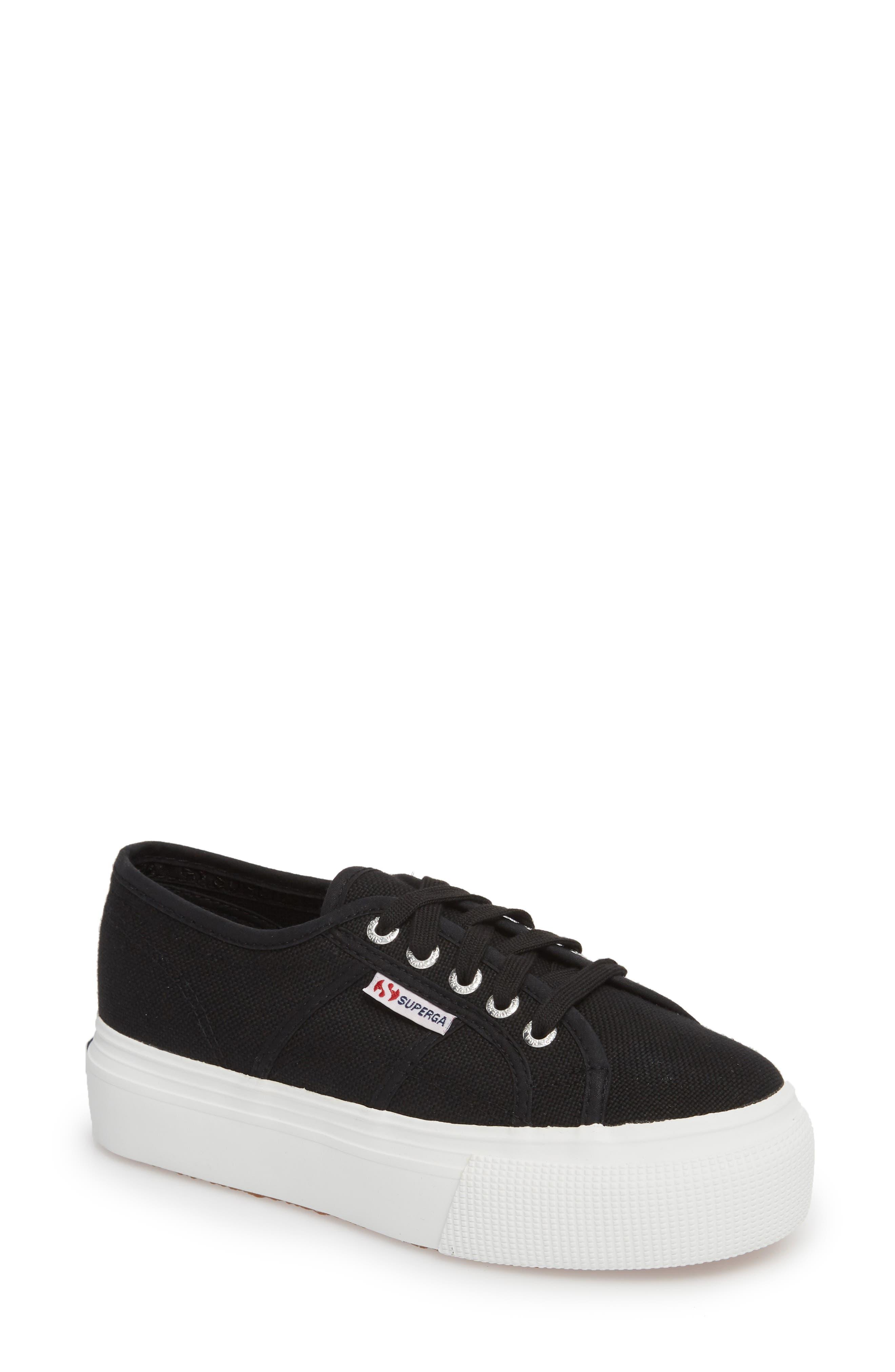 'Acot Linea' Sneaker,                         Main,                         color, BLACK/ WHITE