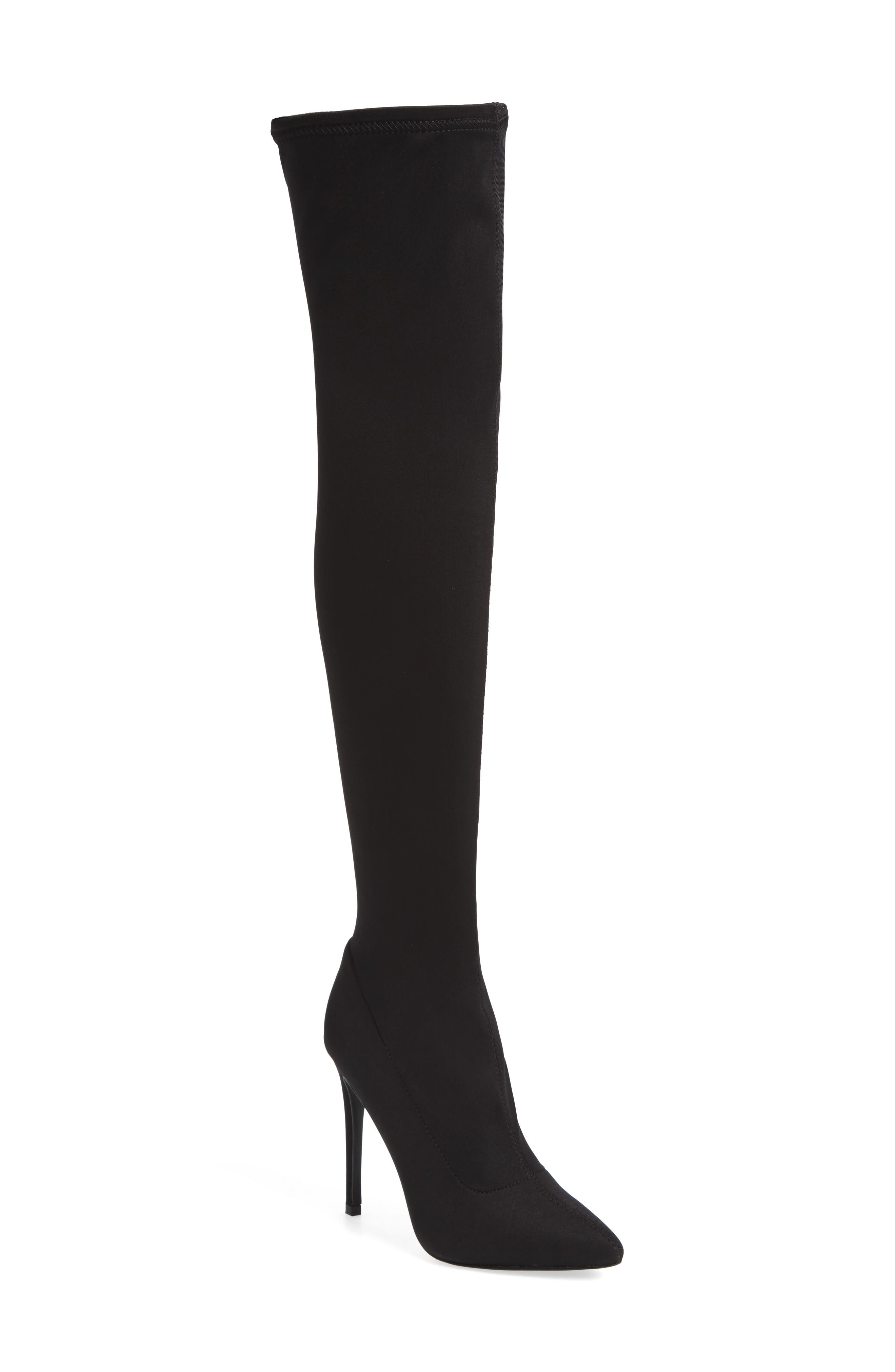 Slammin Over the Knee Boot, Main, color, 002