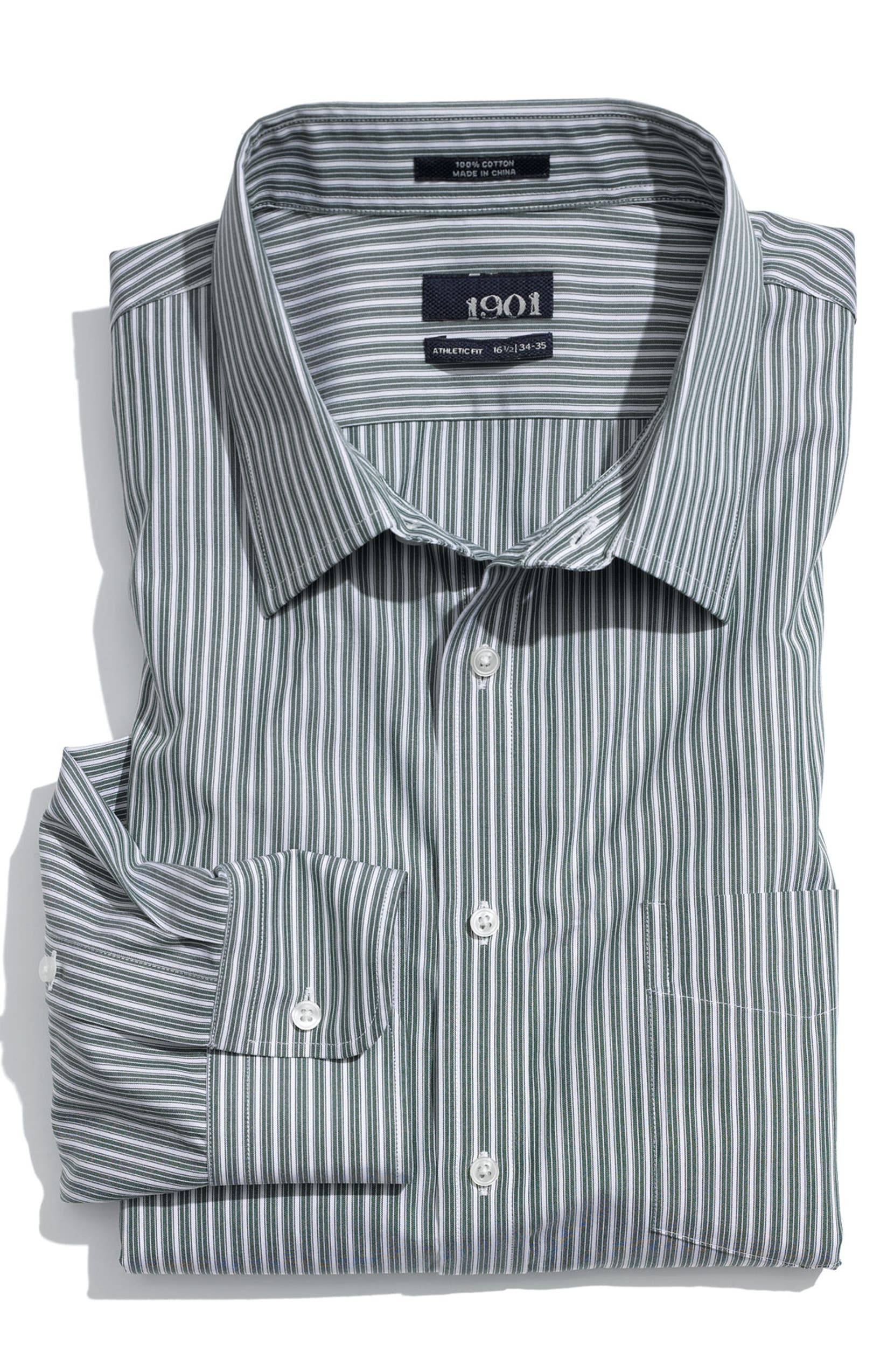 1901 Athletic Fit Dress Shirt Nordstrom
