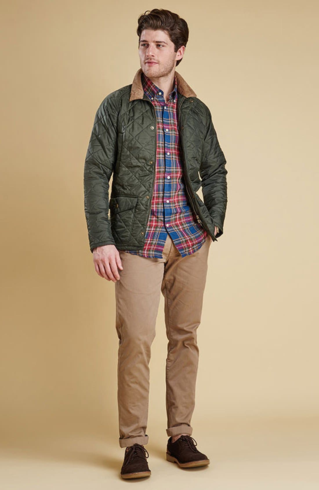 'Canterdale' Slim Fit Water-Resistant Diamond Quilted Jacket,                             Alternate thumbnail 11, color,                             305