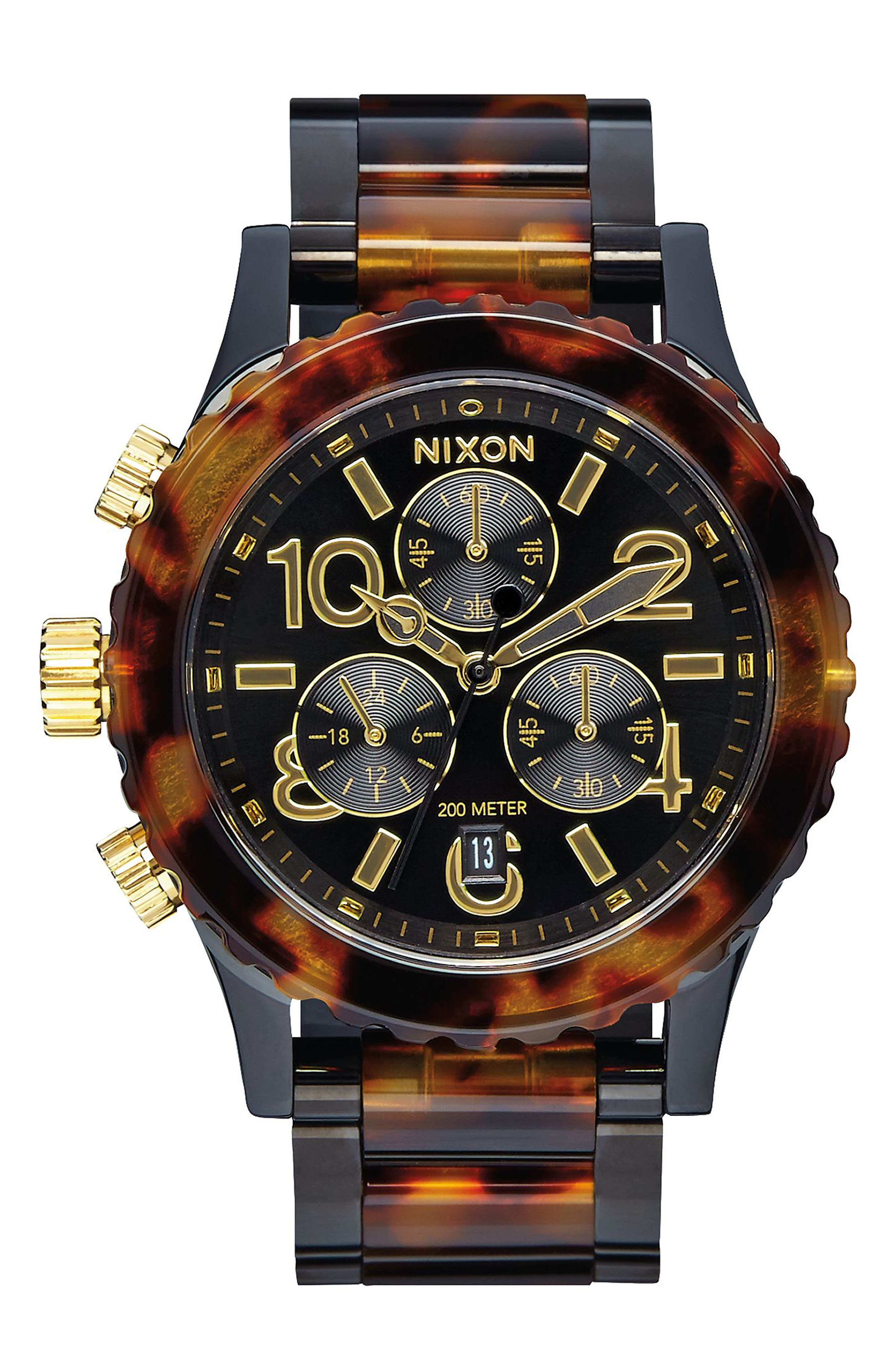 'The 38-20' Extra Large Chronograph Bracelet Watch, 38mm,                             Main thumbnail 1, color,                             200