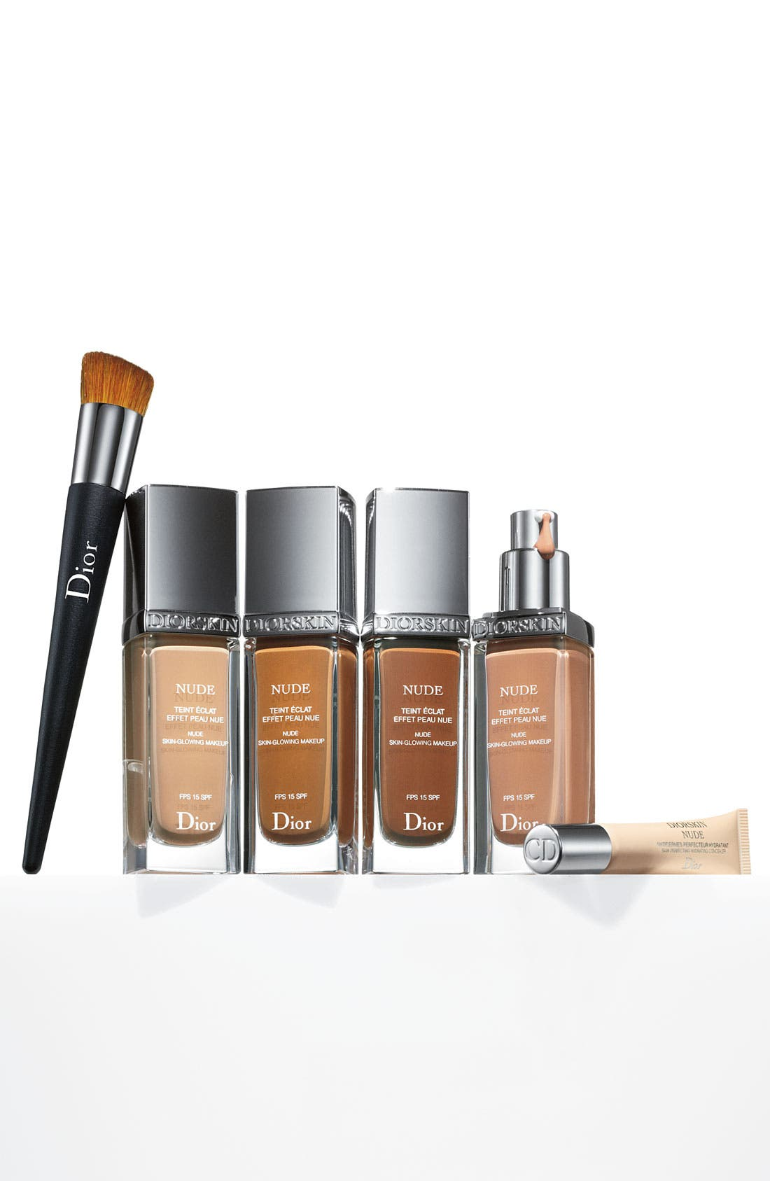 Diorskin Nude Skin-Glowing Foundation Broad Spectrum SPF 15,                             Alternate thumbnail 4, color,                             032