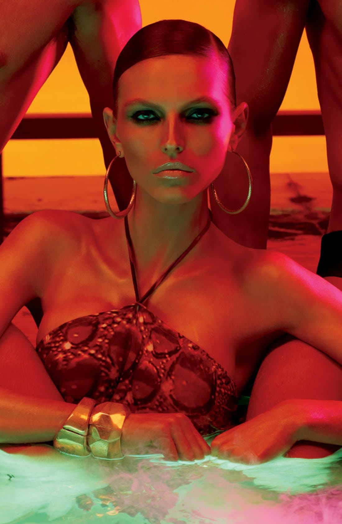 MAC COSMETICS,                             M·A·C 'Temperature Rising - Bronzing Collection' Strobe Liquid Lotion,                             Alternate thumbnail 2, color,                             710