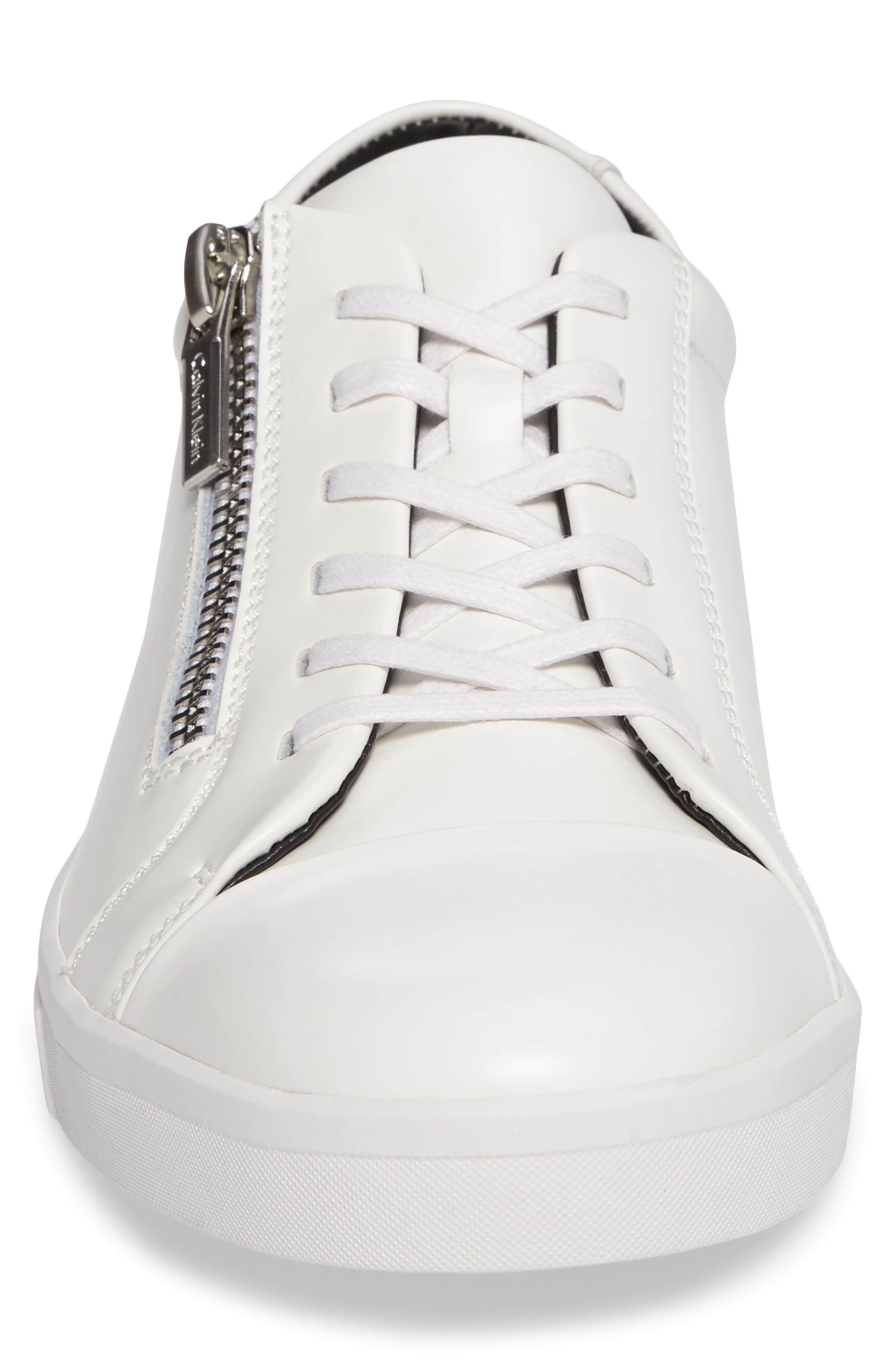 Ibrahim Cap-Toe Zip Sneaker,                             Alternate thumbnail 11, color,