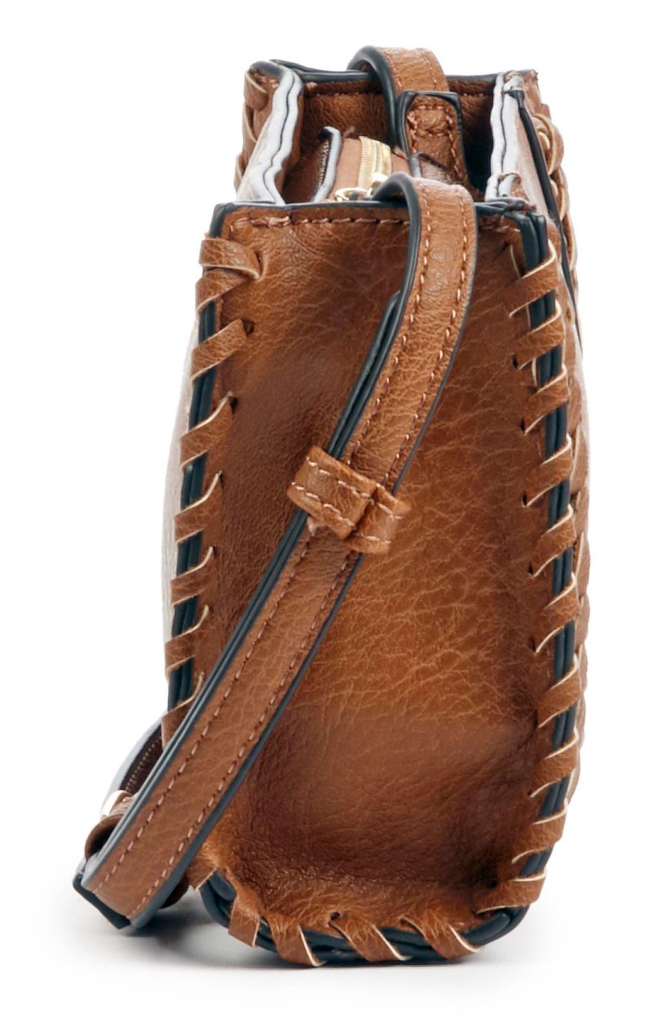 SOLE SOCIETY,                             Destin Faux Leather Crossbody Bag,                             Alternate thumbnail 4, color,                             230