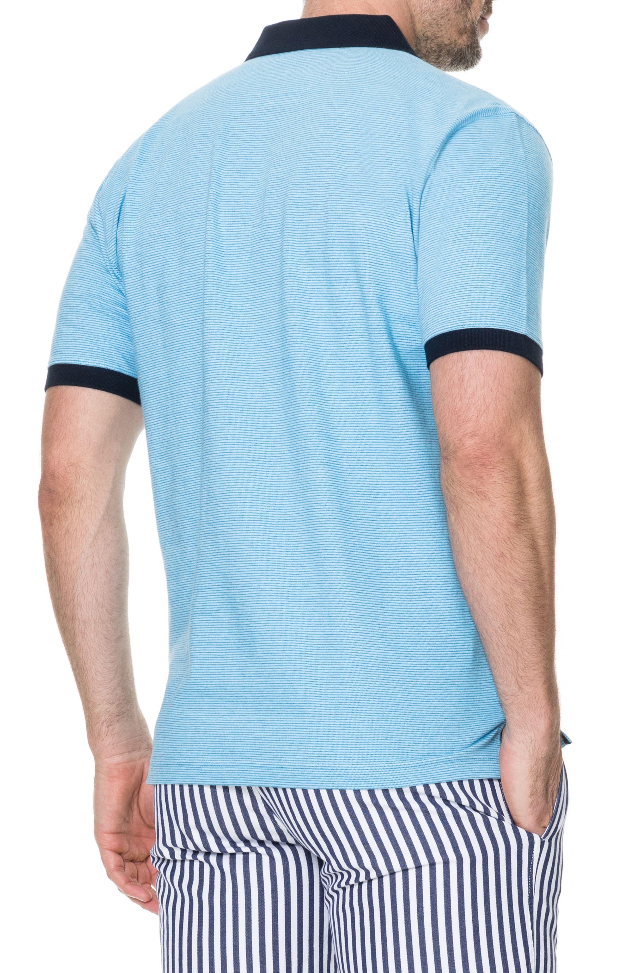 Sedgebrook Regular Fit Polo,                             Alternate thumbnail 2, color,                             AQUA