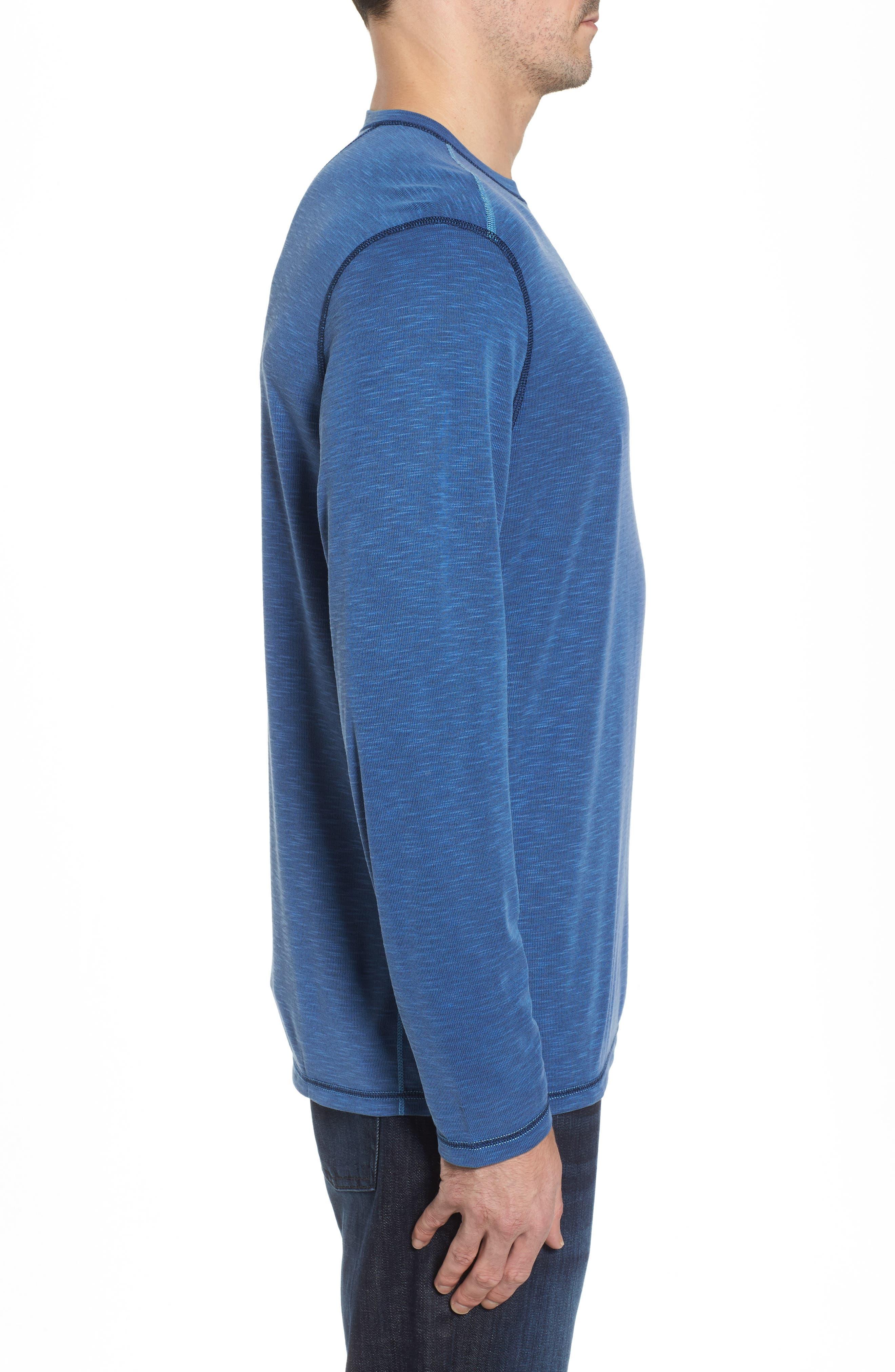 Flip Tide Standard Fit T-Shirt,                             Alternate thumbnail 4, color,                             GALAXY BLUE