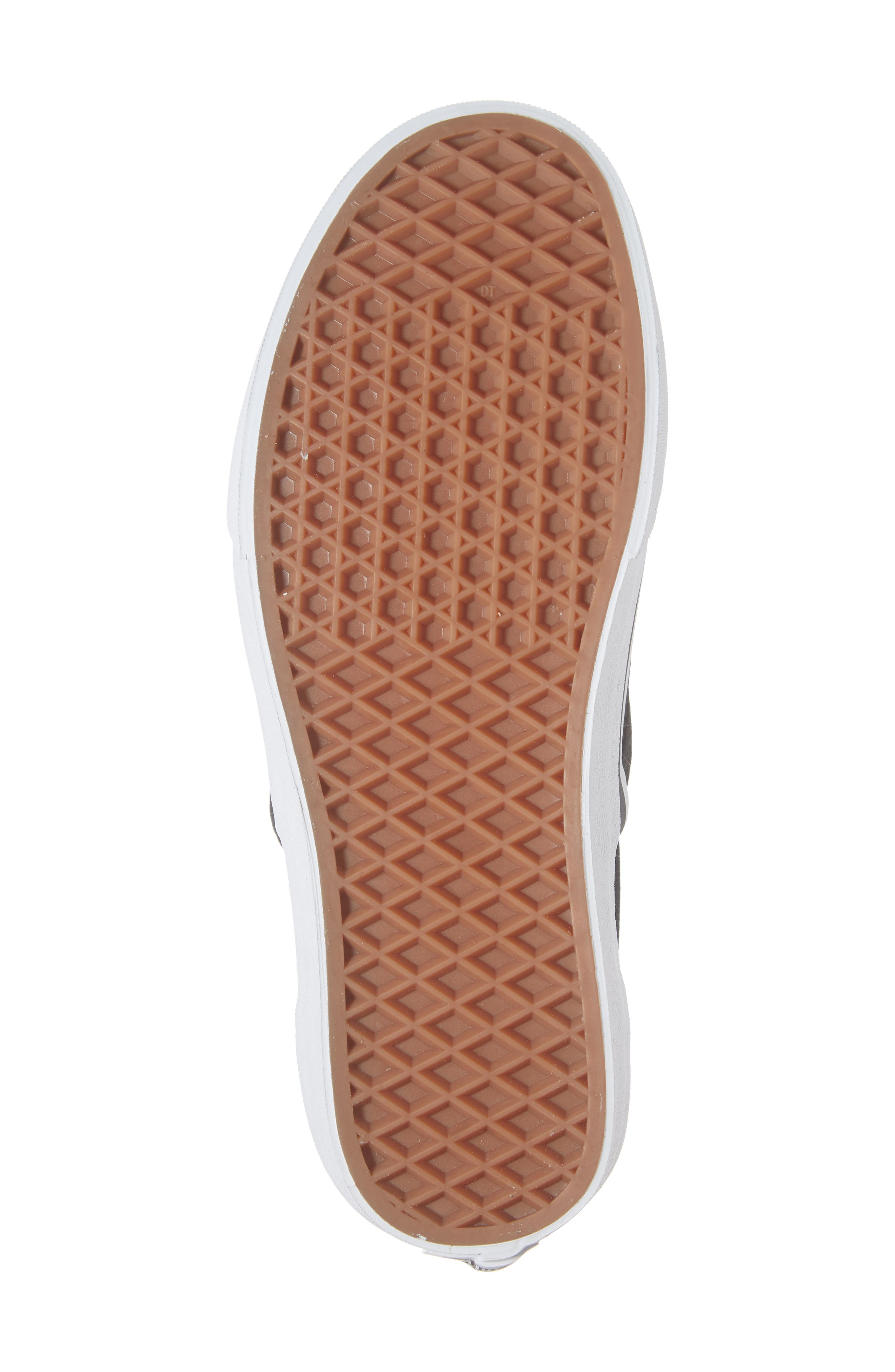 Classic Embossed Suede Slip-On,                             Alternate thumbnail 6, color,                             001