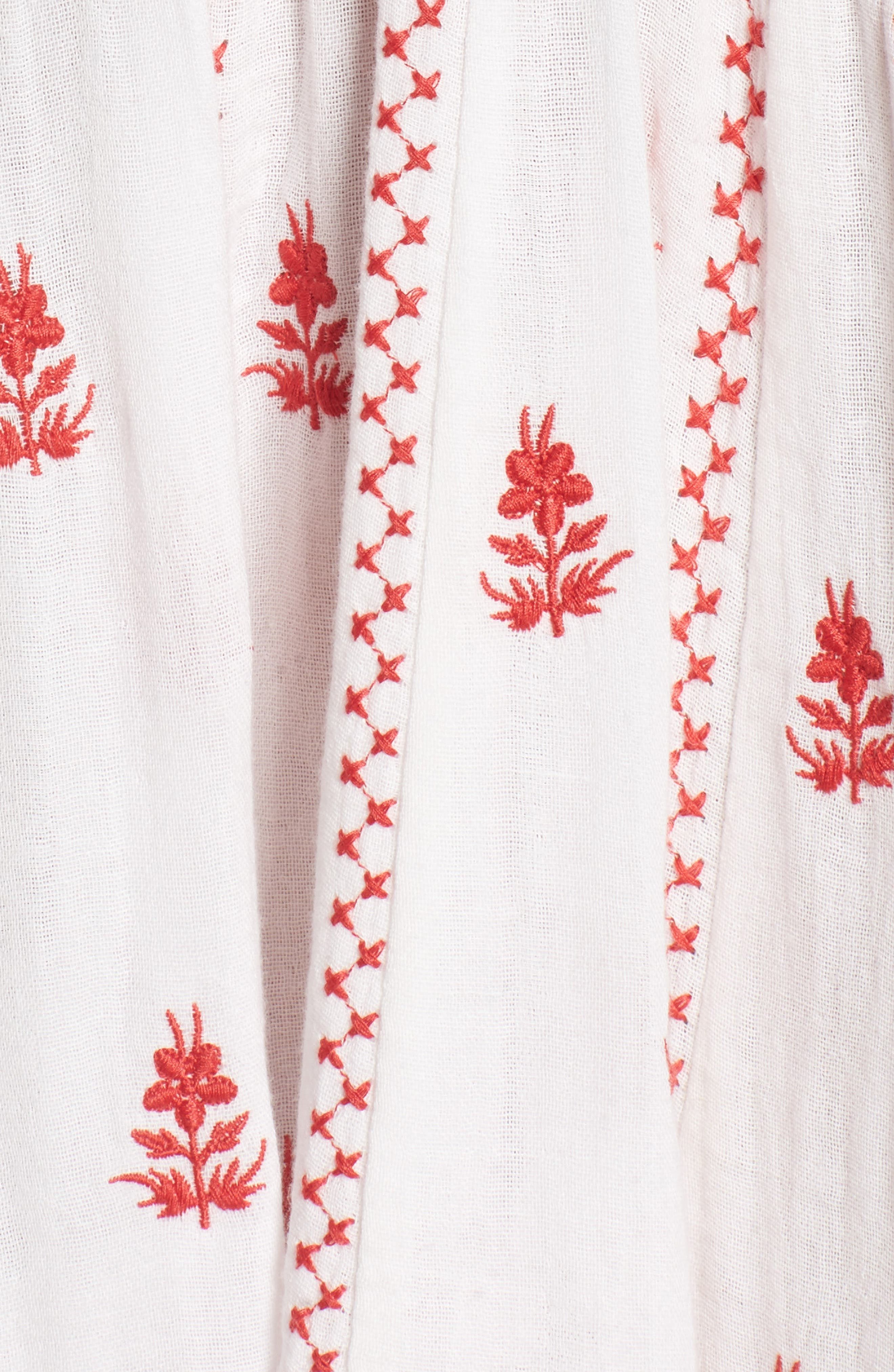 Ruby Embroidered Dress,                             Alternate thumbnail 6, color,