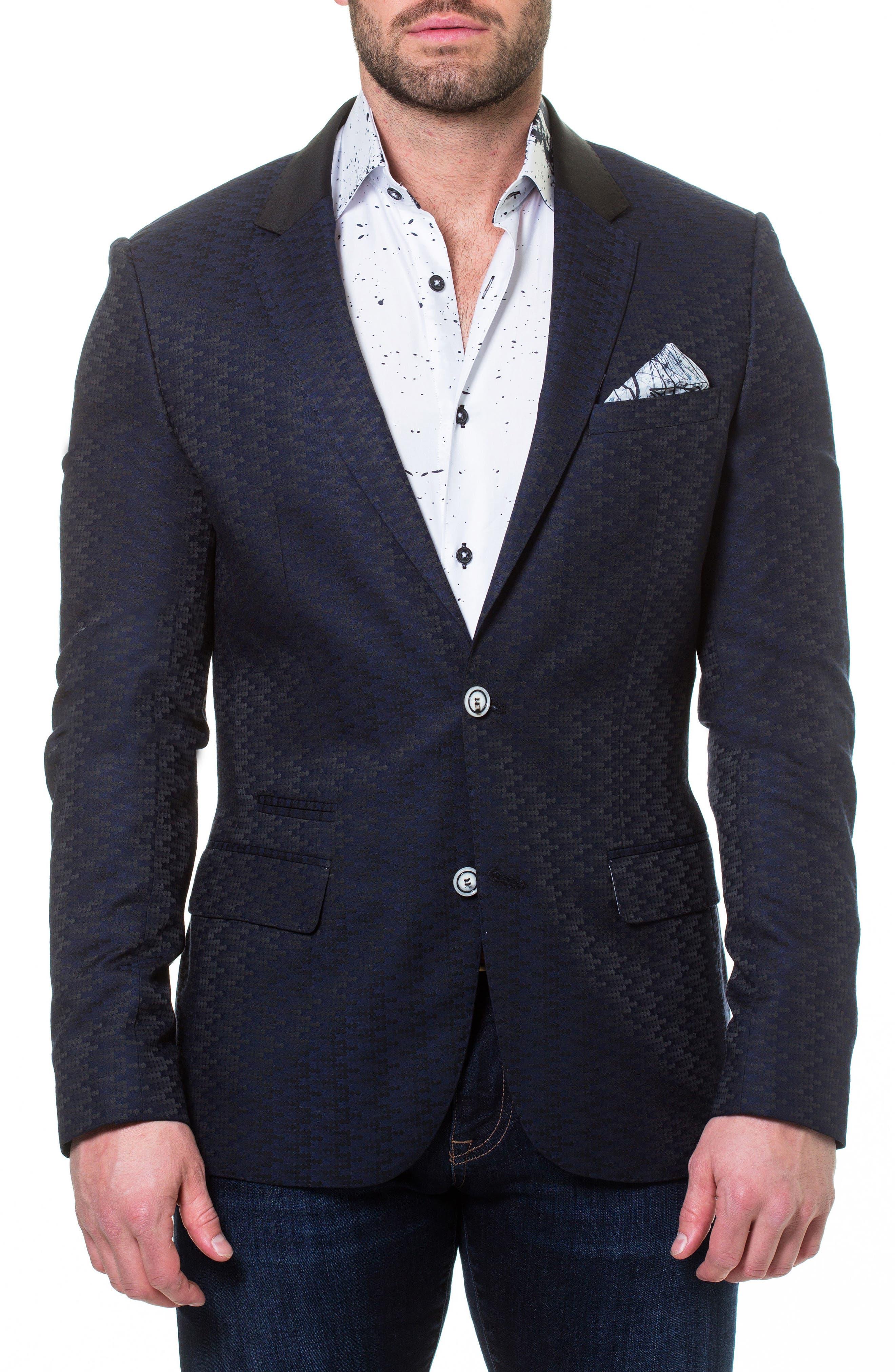 Socrate Evo Newton Textured Sport Coat,                         Main,                         color, 420