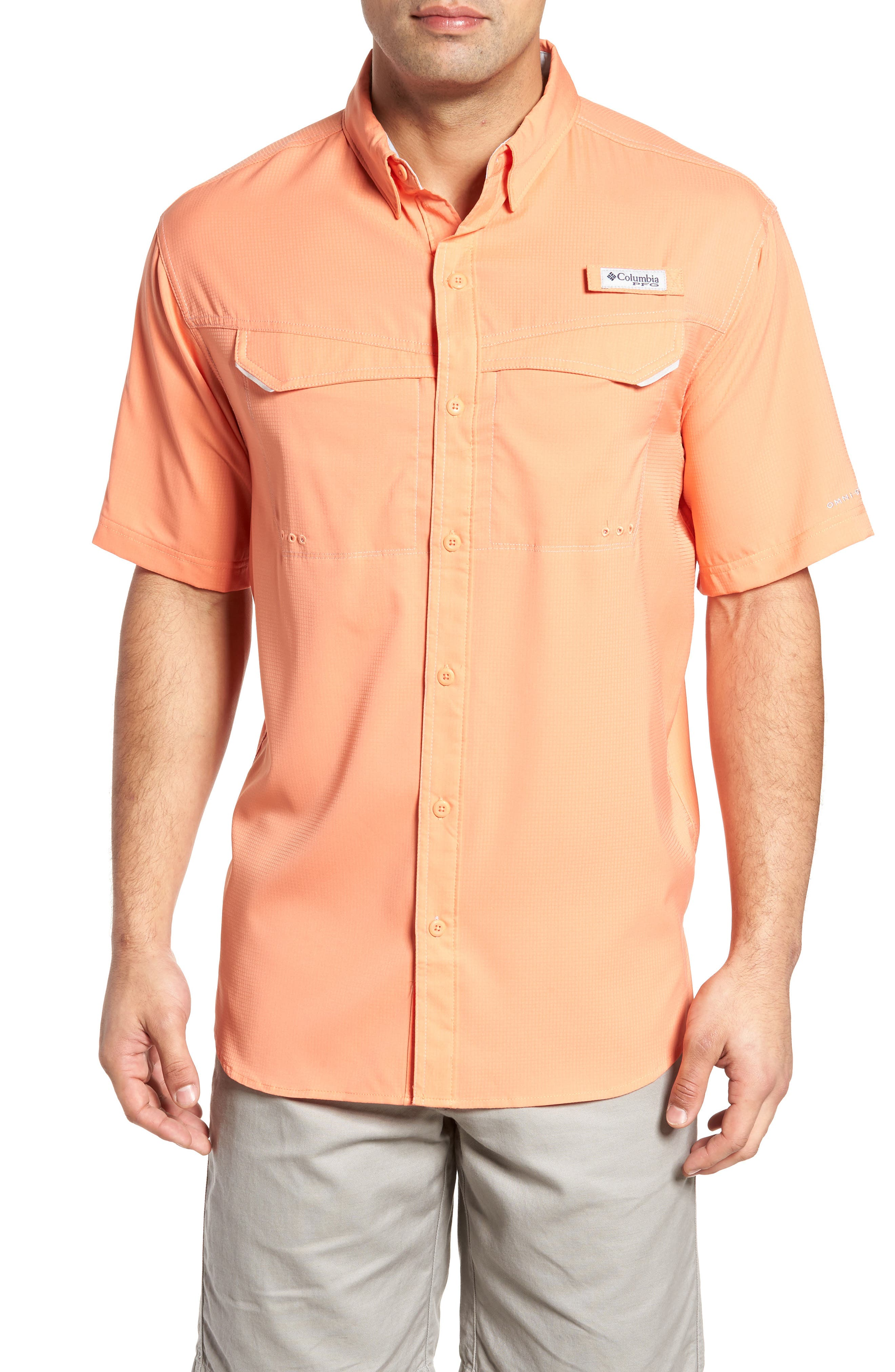 PFG Low Drag Offshore Woven Shirt,                             Main thumbnail 5, color,