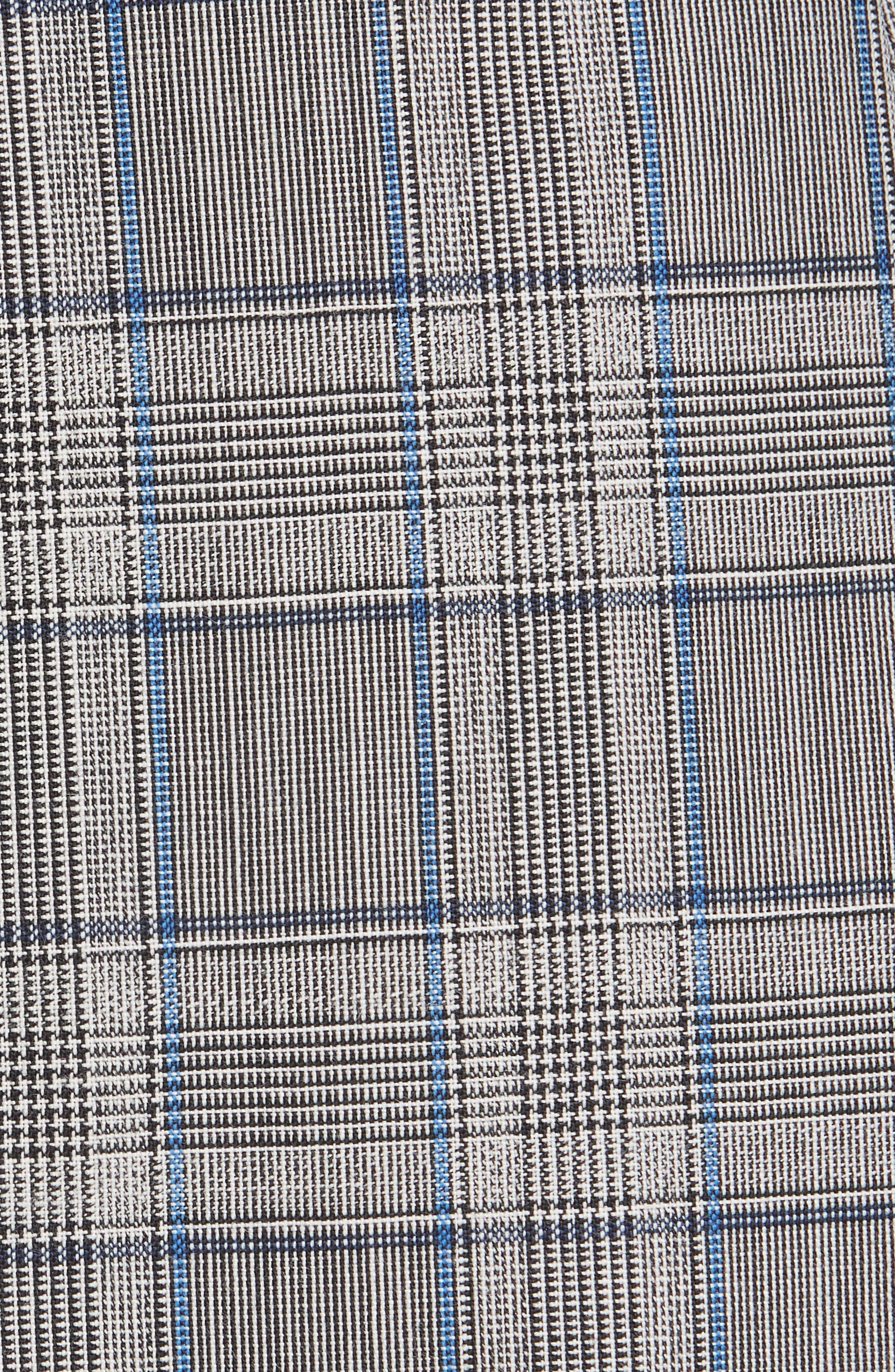 Cotton Suiting Blazer Dress,                             Alternate thumbnail 5, color,                             087