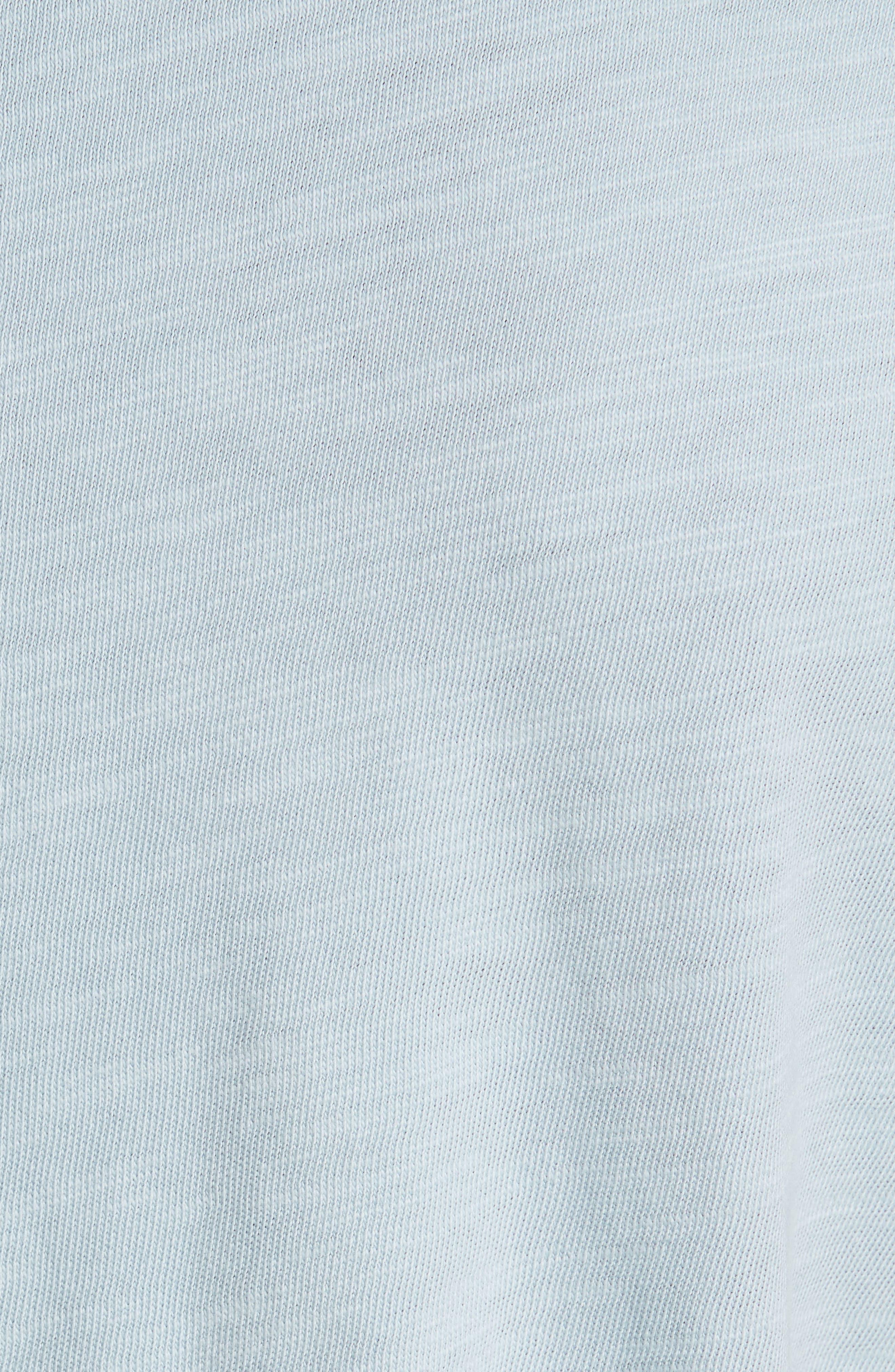 Slub Cotton Jersey T-Shirt,                             Alternate thumbnail 5, color,                             450