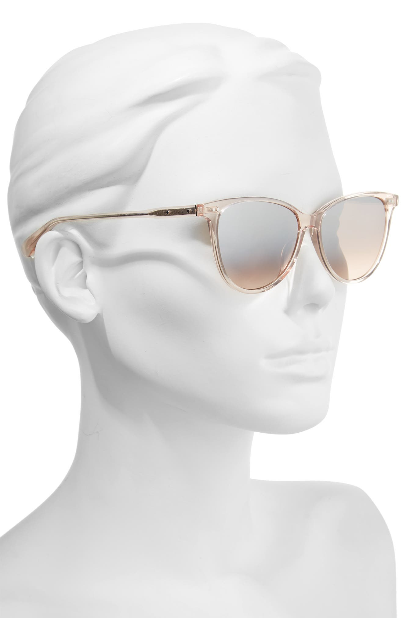 The Patton 55mm Gradient Cat Eye Sunglasses,                             Alternate thumbnail 5, color,