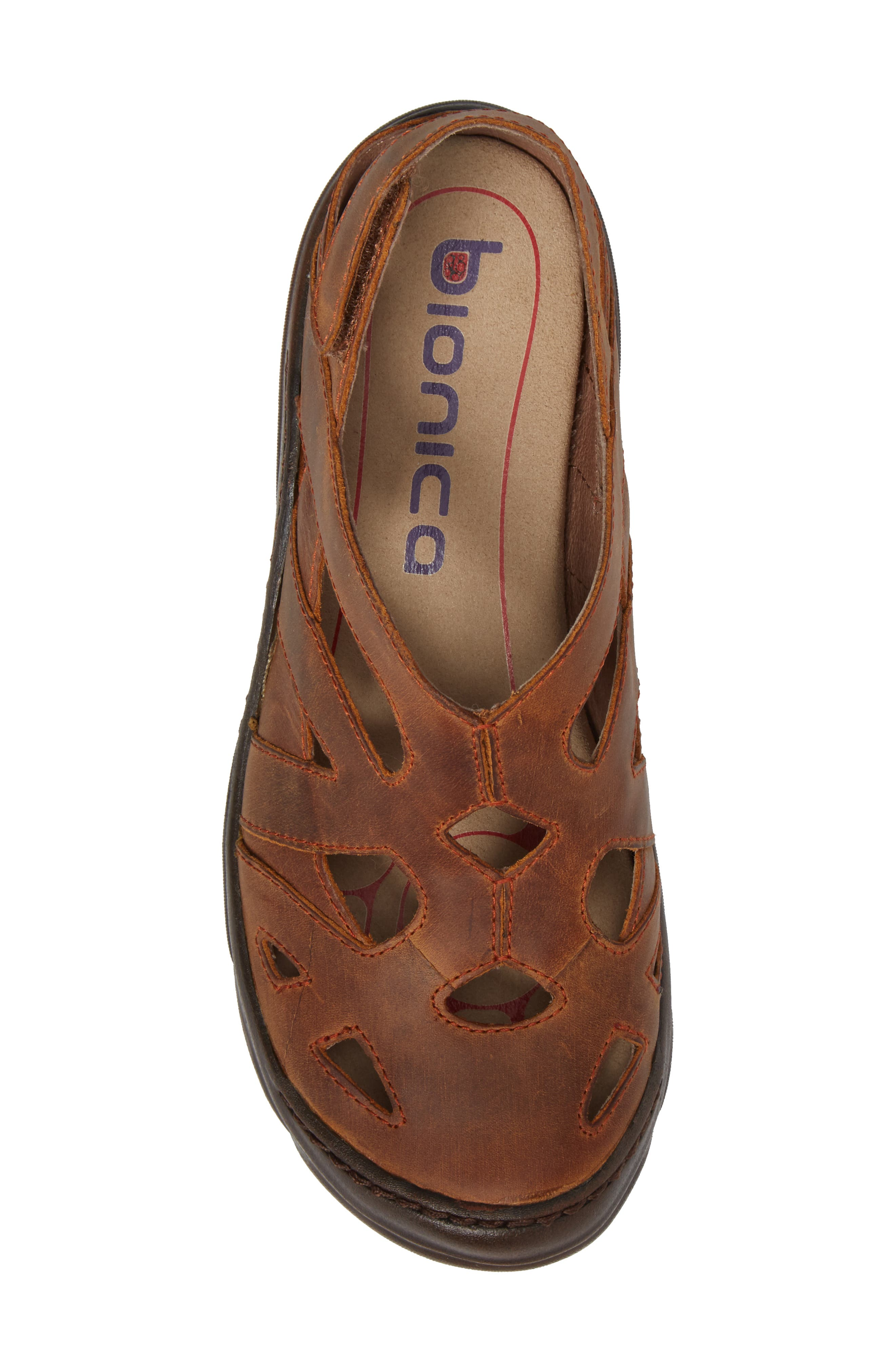 BIONICA,                             Maclean Sandal,                             Alternate thumbnail 5, color,                             ALMOND TAN LEATHER