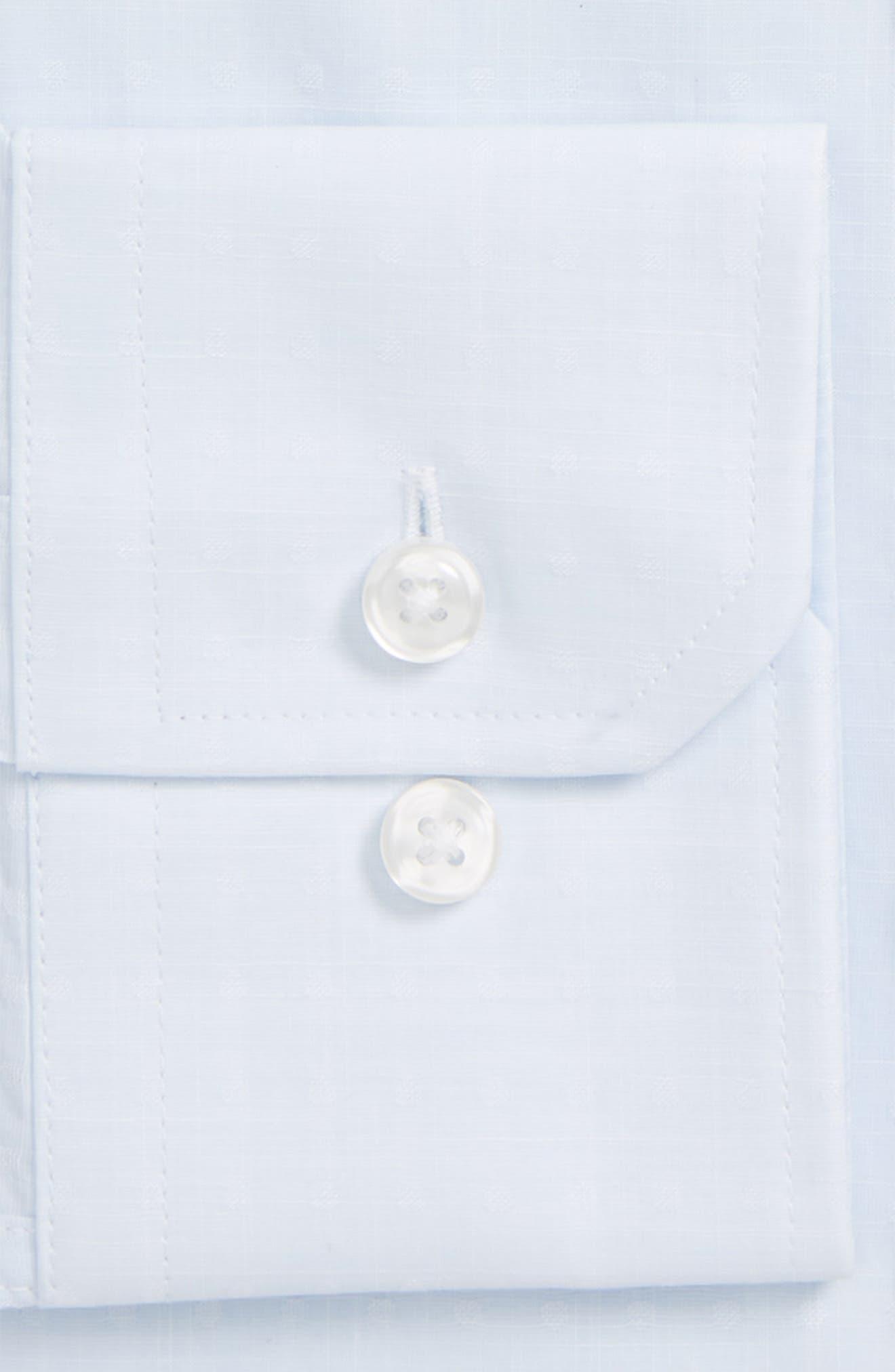 Trim Fit Dobby Dress Shirt,                             Alternate thumbnail 2, color,                             458