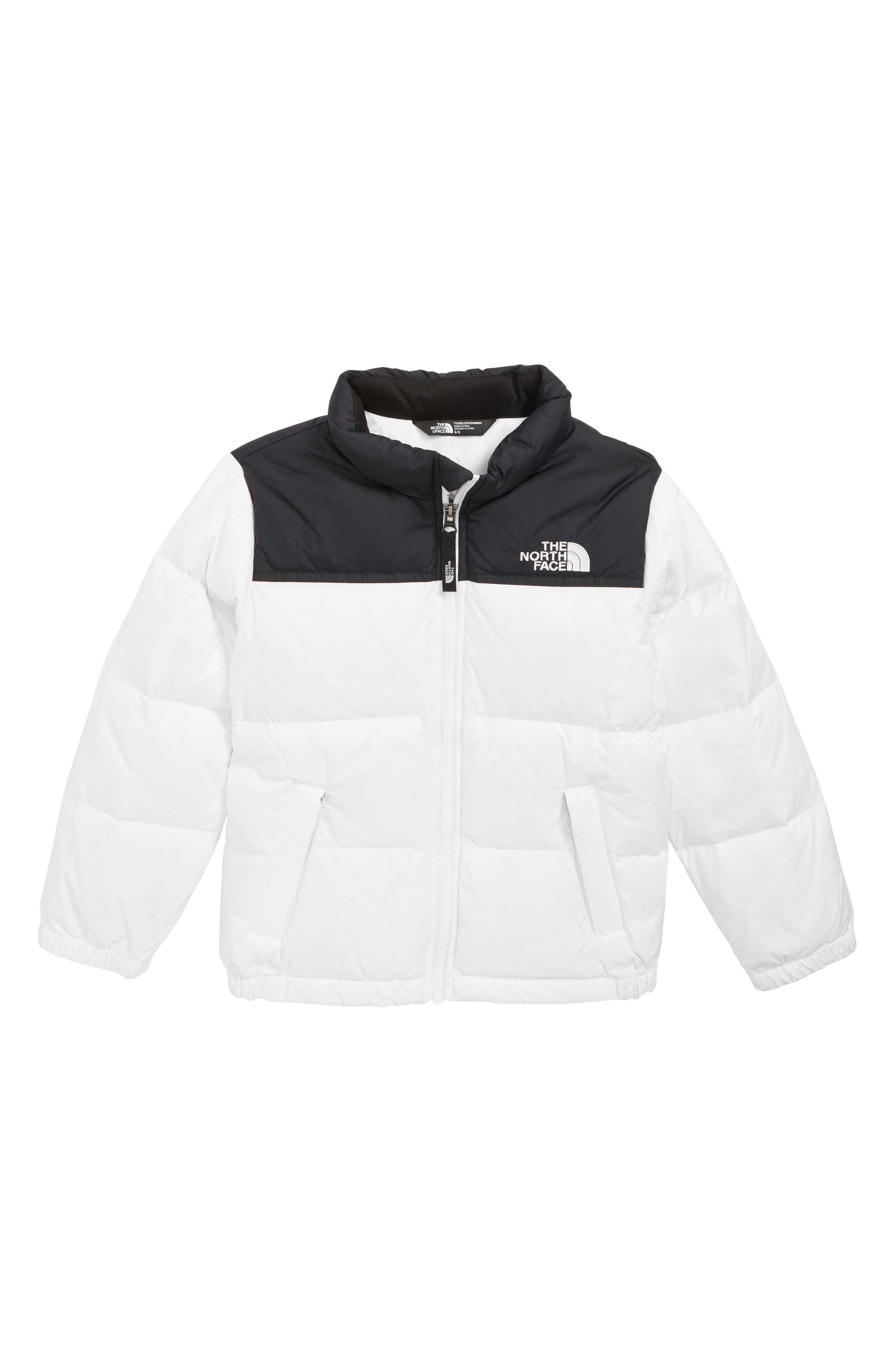 Nuptse 700 Fill Power Down Puffer Jacket,                         Main,                         color, TNF WHITE