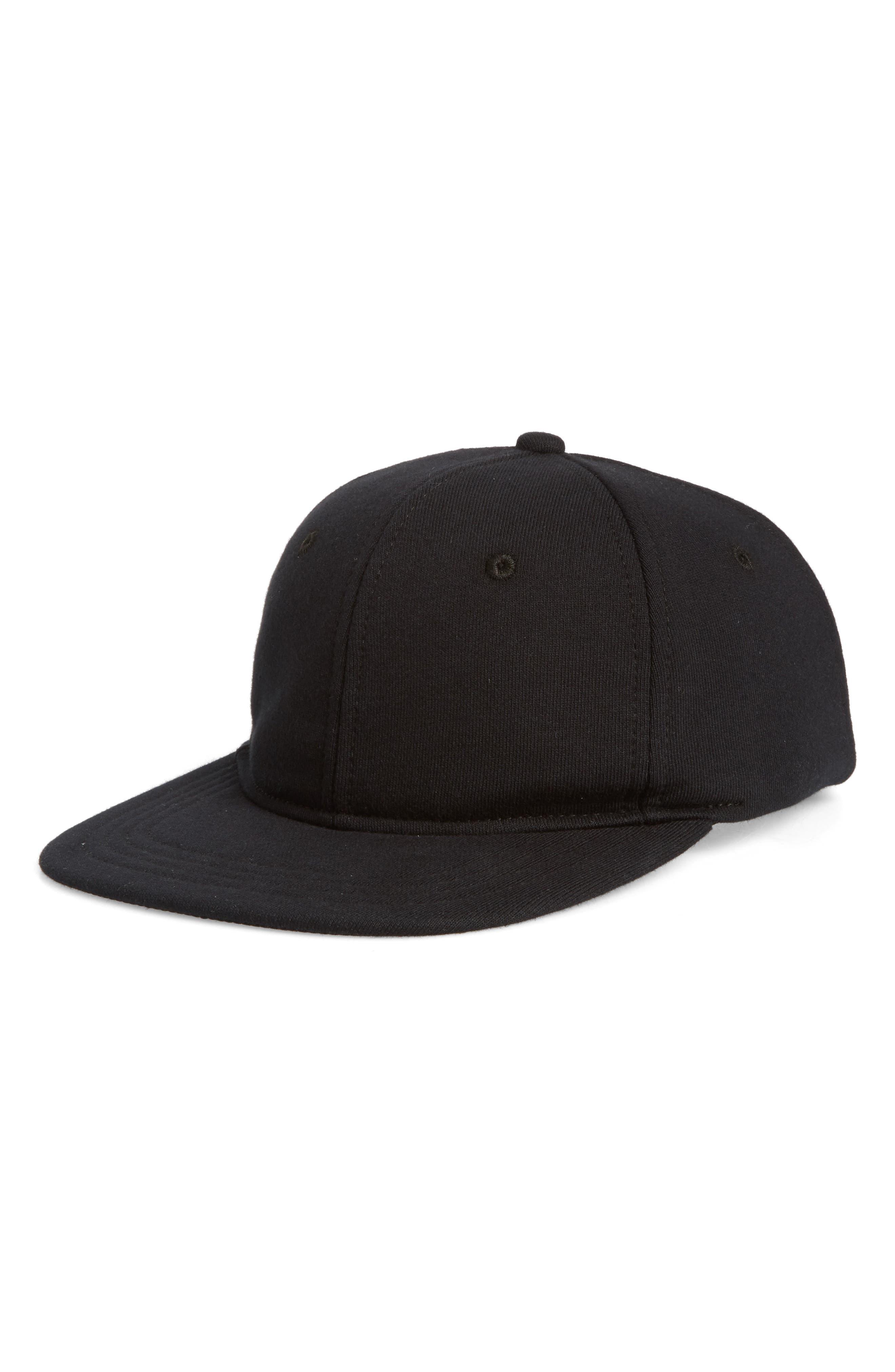 Baseball Cap,                             Main thumbnail 1, color,                             BLACK