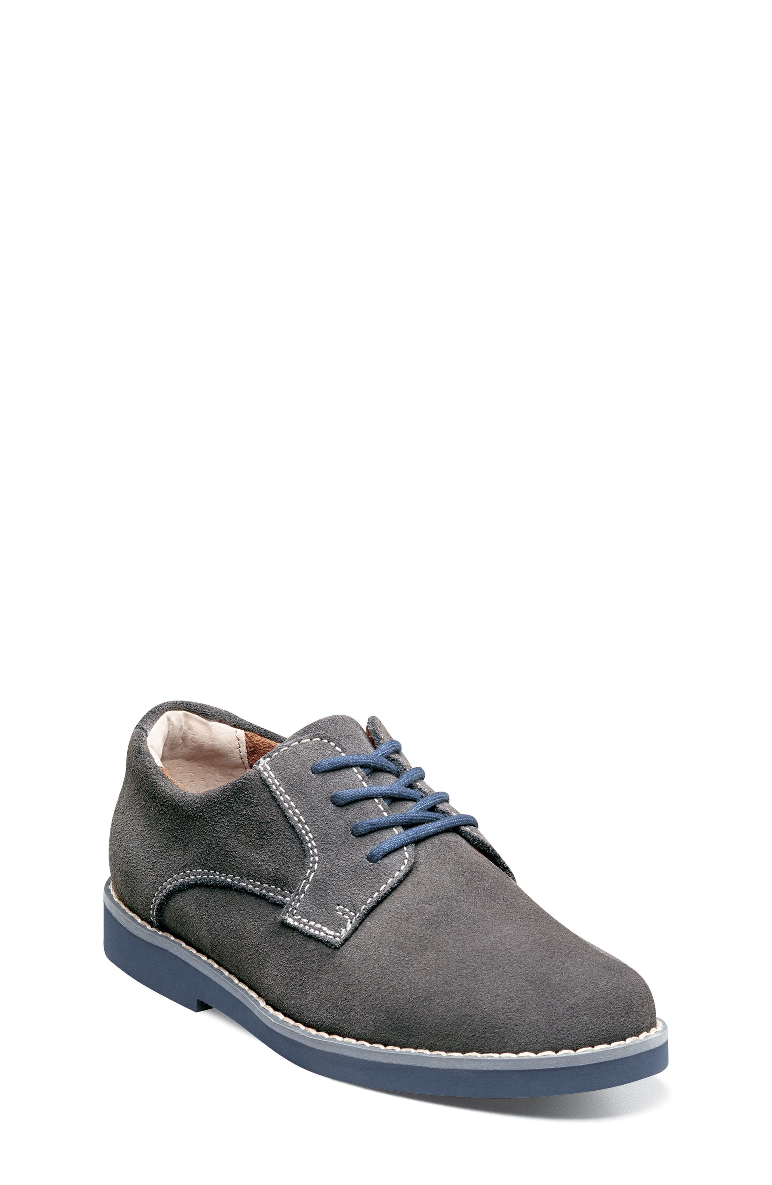 Kearny Two Tone Oxford,                             Alternate thumbnail 2, color,                             GREY/ NAVY SOLE