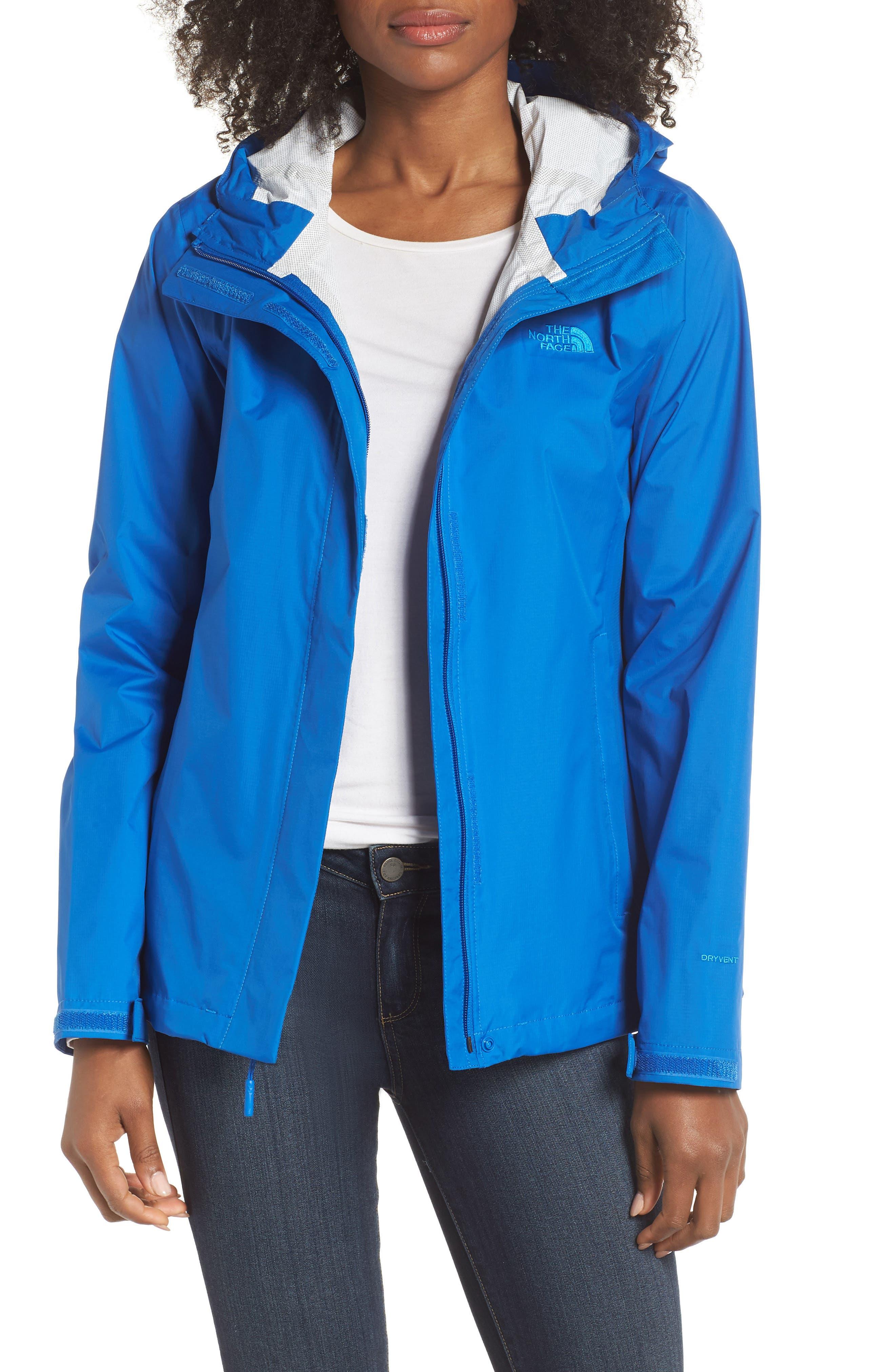 Venture 2 Waterproof Jacket,                             Main thumbnail 1, color,                             TURKISH SEA