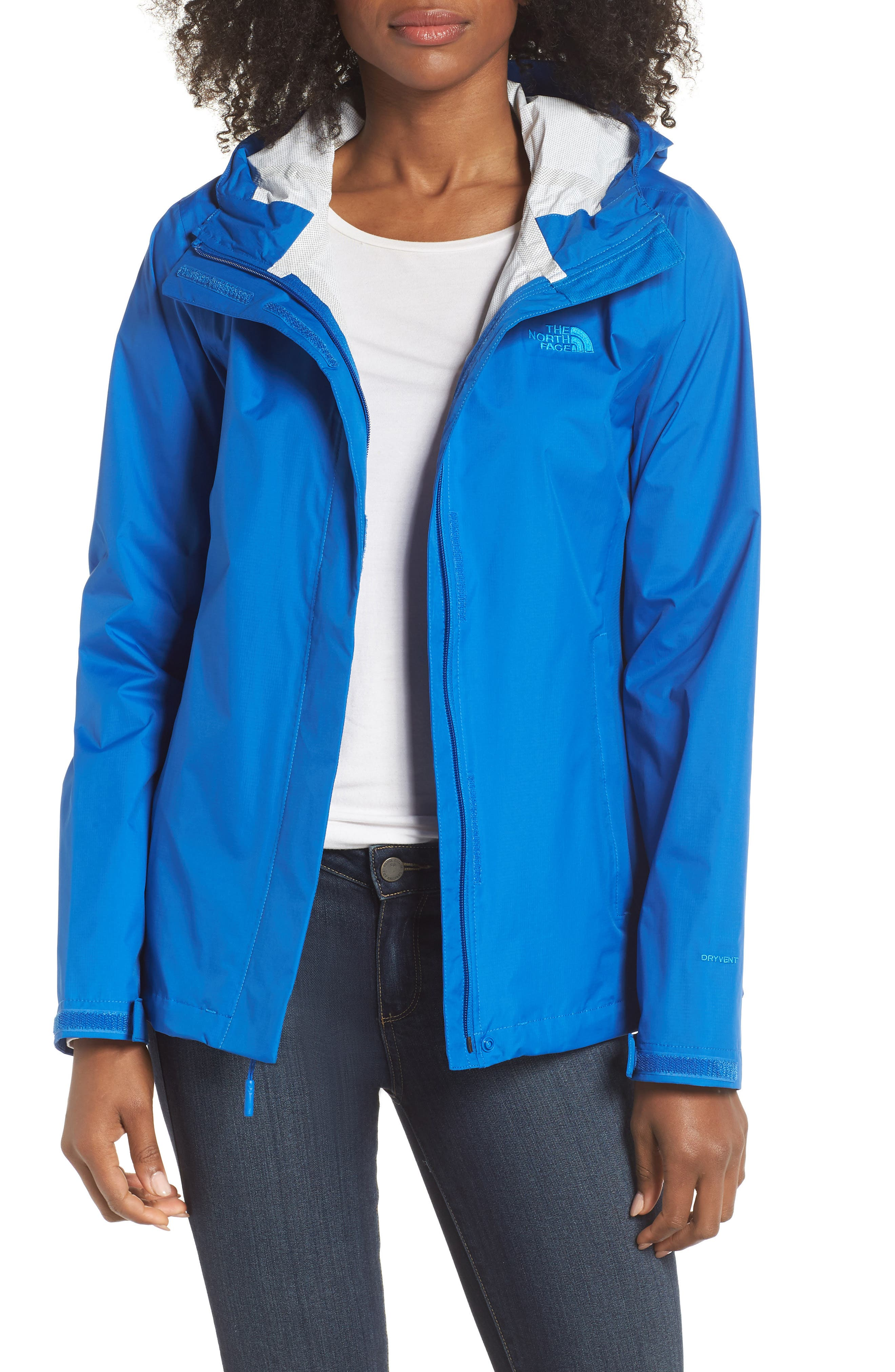 Venture 2 Waterproof Jacket,                         Main,                         color, TURKISH SEA