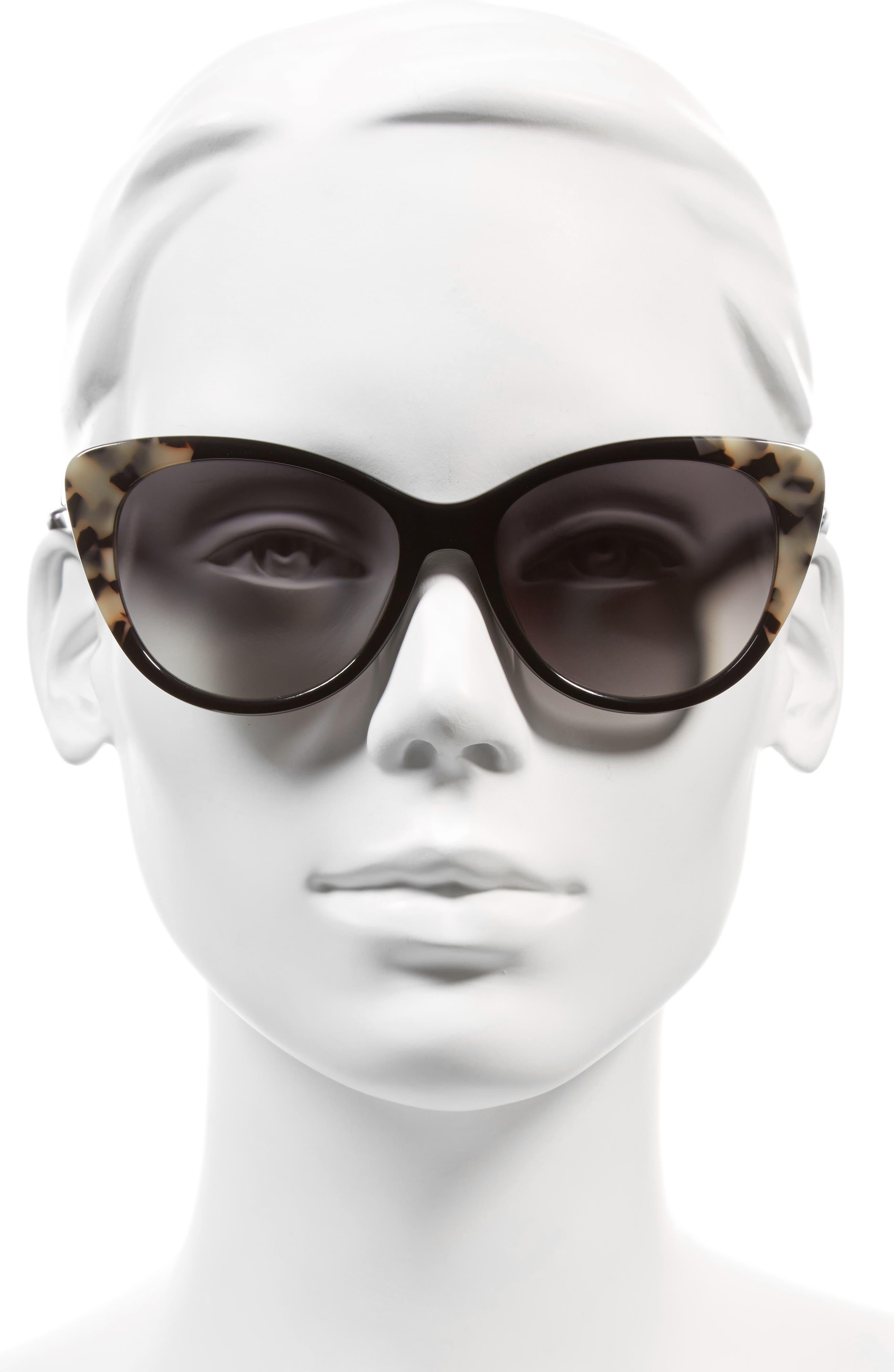 sherylyn 54mm sunglasses,                             Alternate thumbnail 2, color,                             001