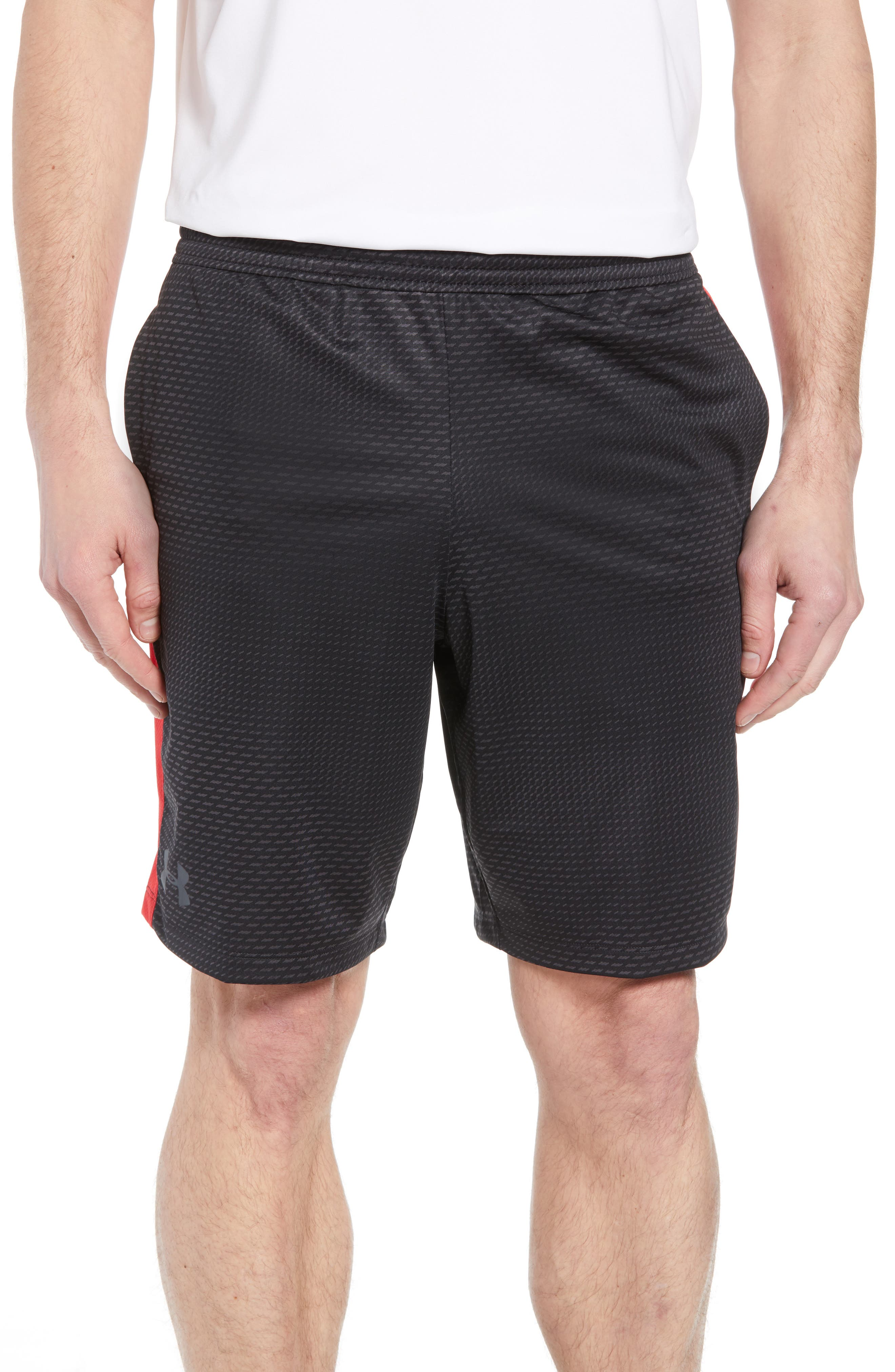 UNDER ARMOUR,                             Raid 2.0 Classic Fit Shorts,                             Main thumbnail 1, color,                             001