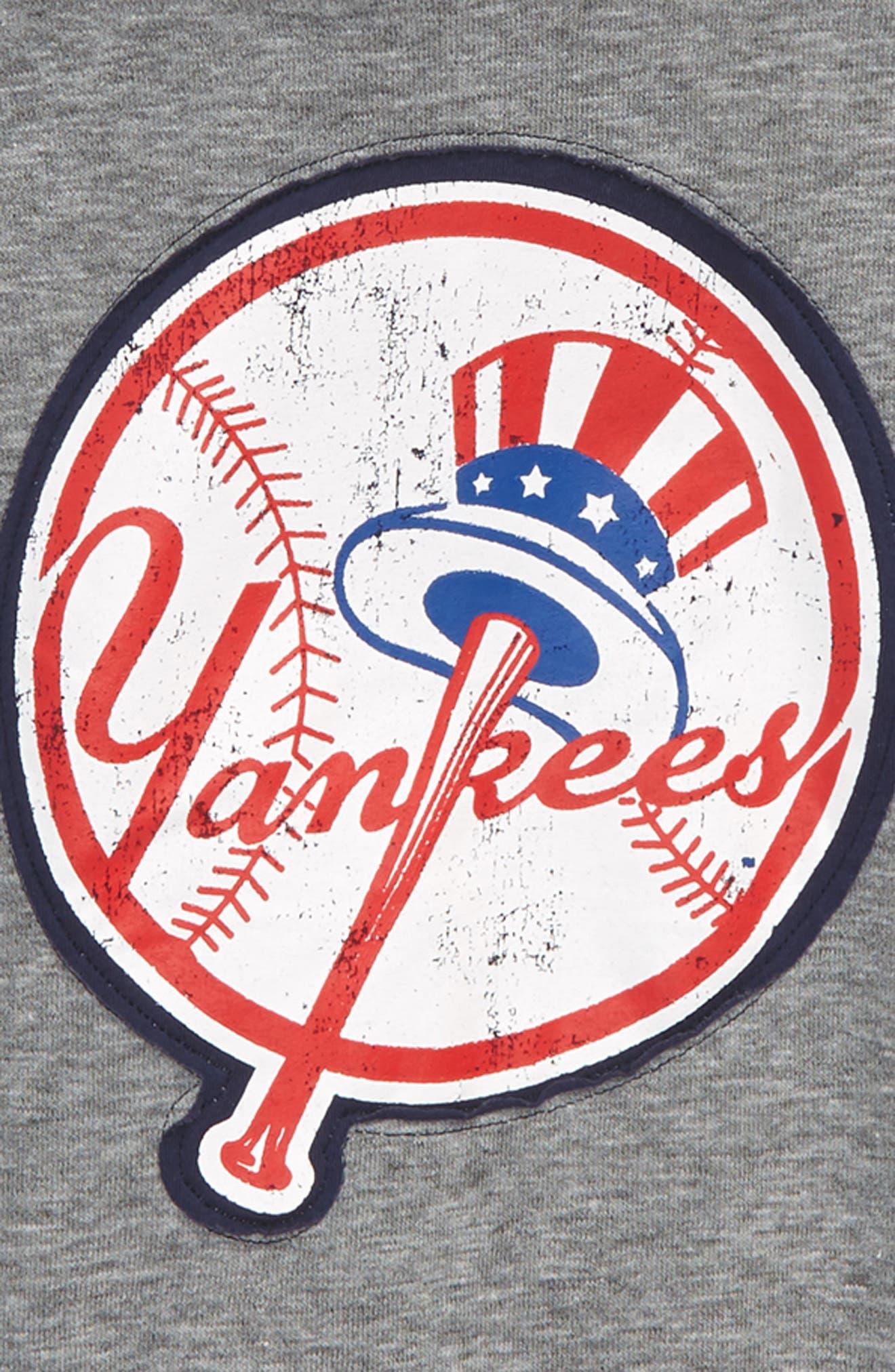 New Beginnings - New York Yankees Pullover Hoodie,                             Alternate thumbnail 2, color,                             020