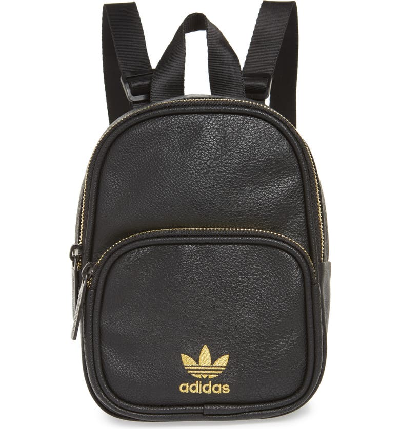 080f850b89f2 adidas Originals Mini Faux Leather Backpack
