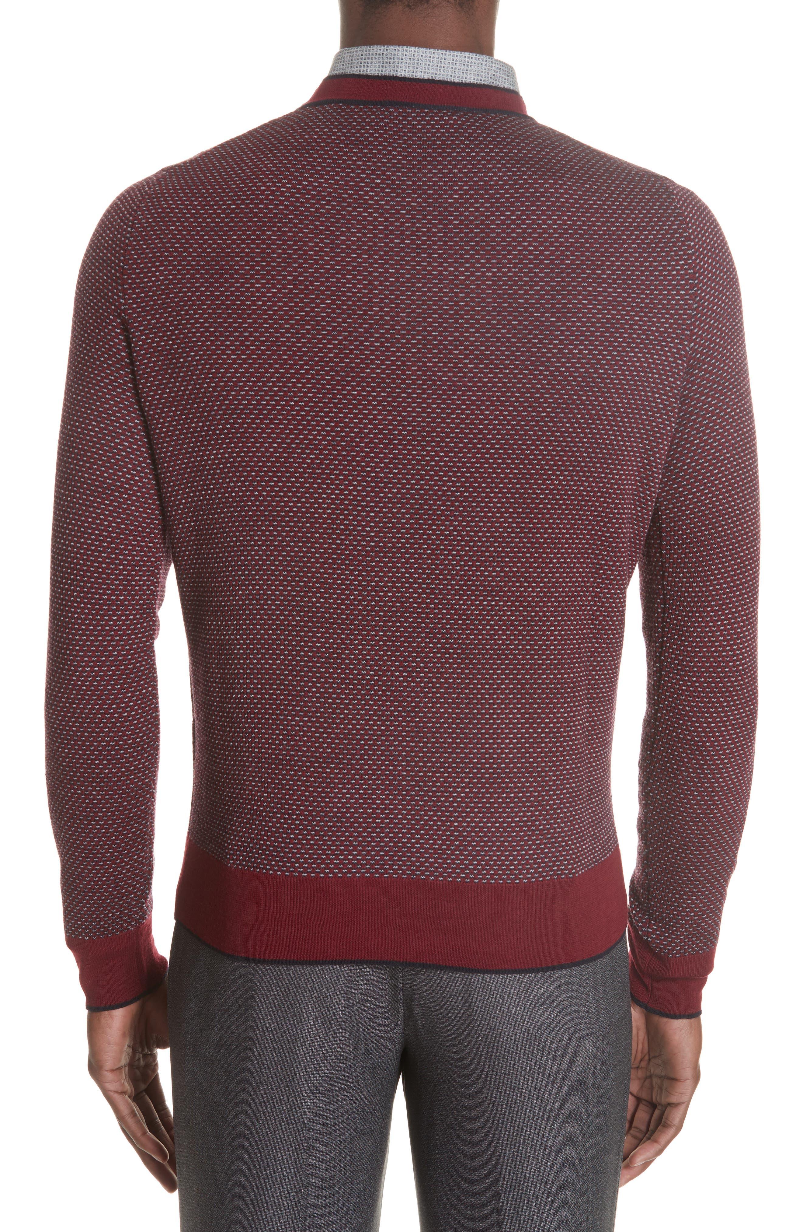 Crewneck Wool Sweater,                             Alternate thumbnail 2, color,                             600