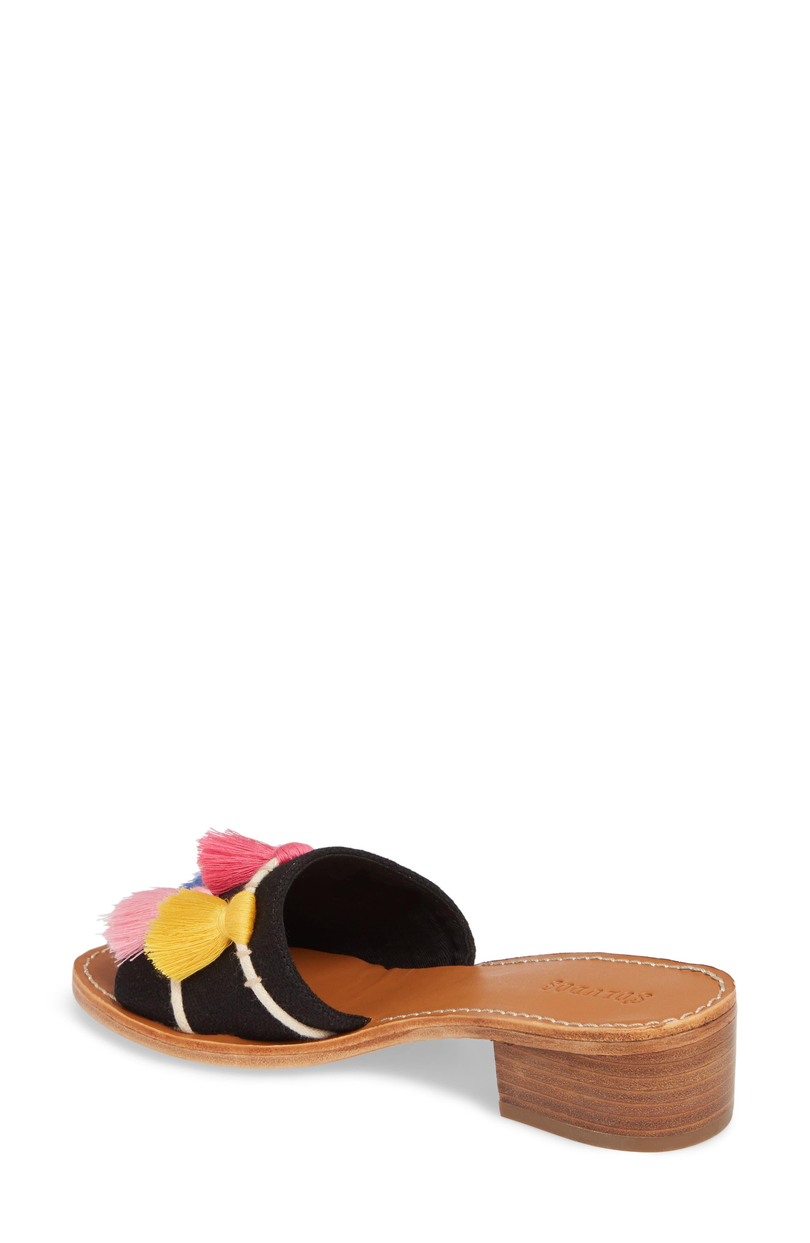 Tassel City Sandal,                             Alternate thumbnail 2, color,                             001