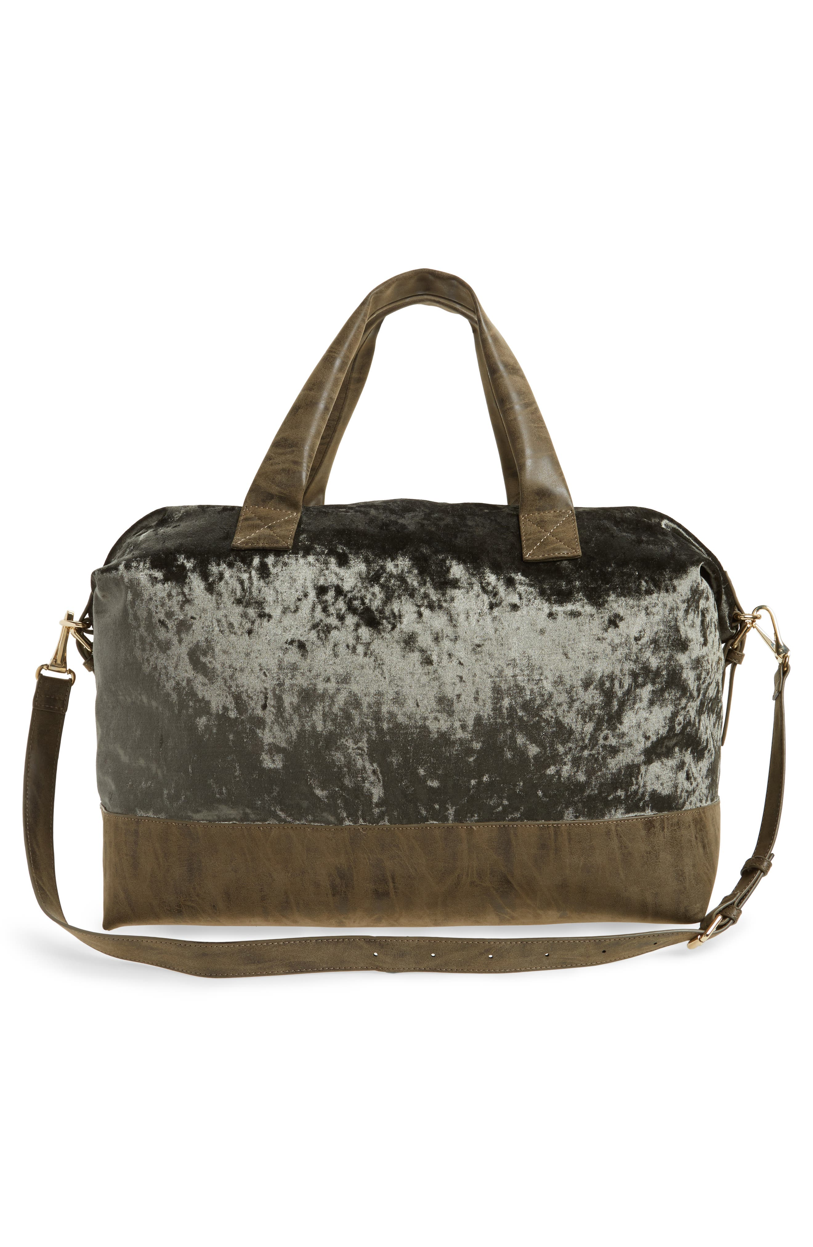 Venti Velvet Duffel Bag,                             Alternate thumbnail 5, color,