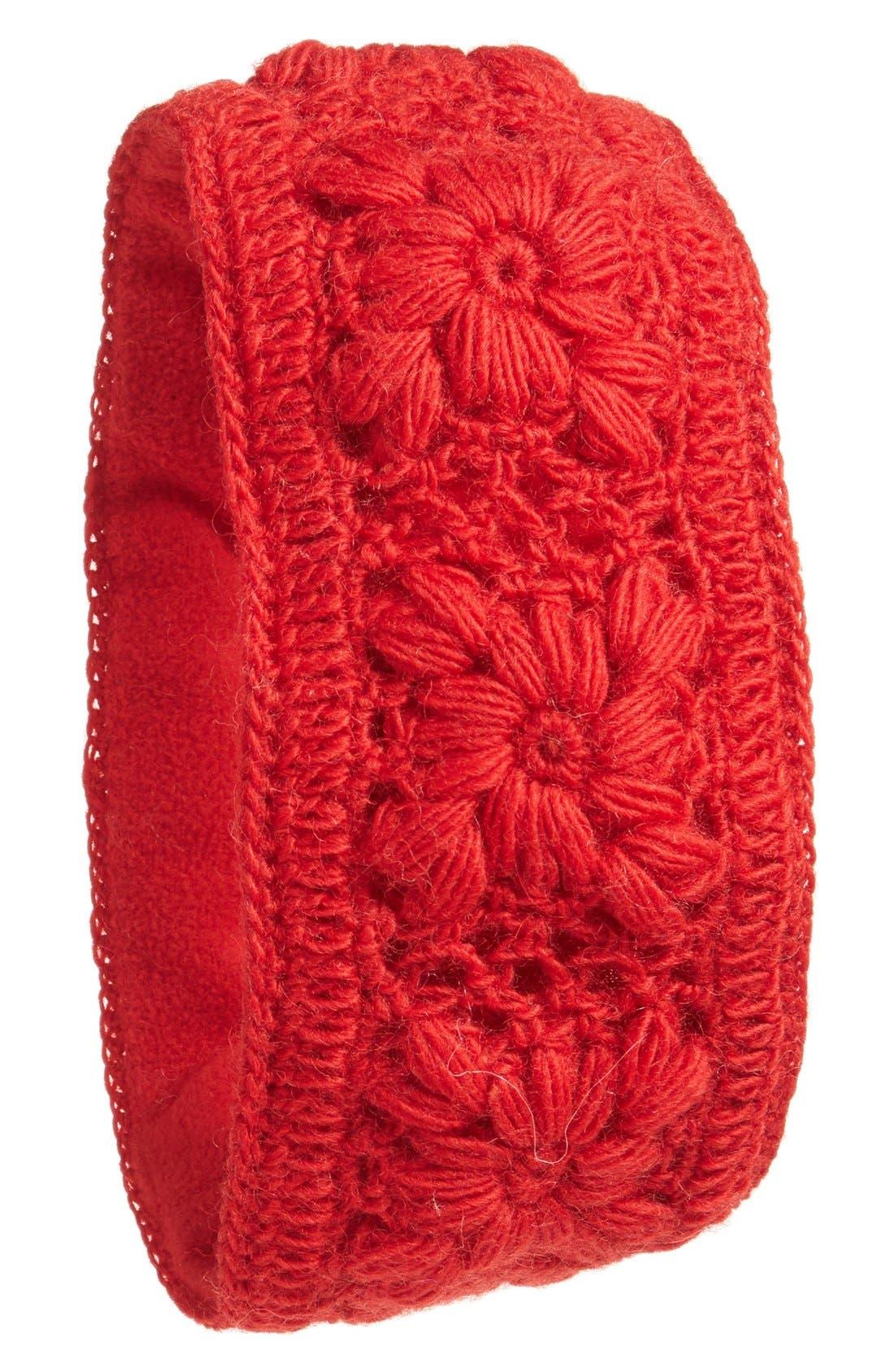Crochet Ear Warmer Headband,                             Main thumbnail 10, color,