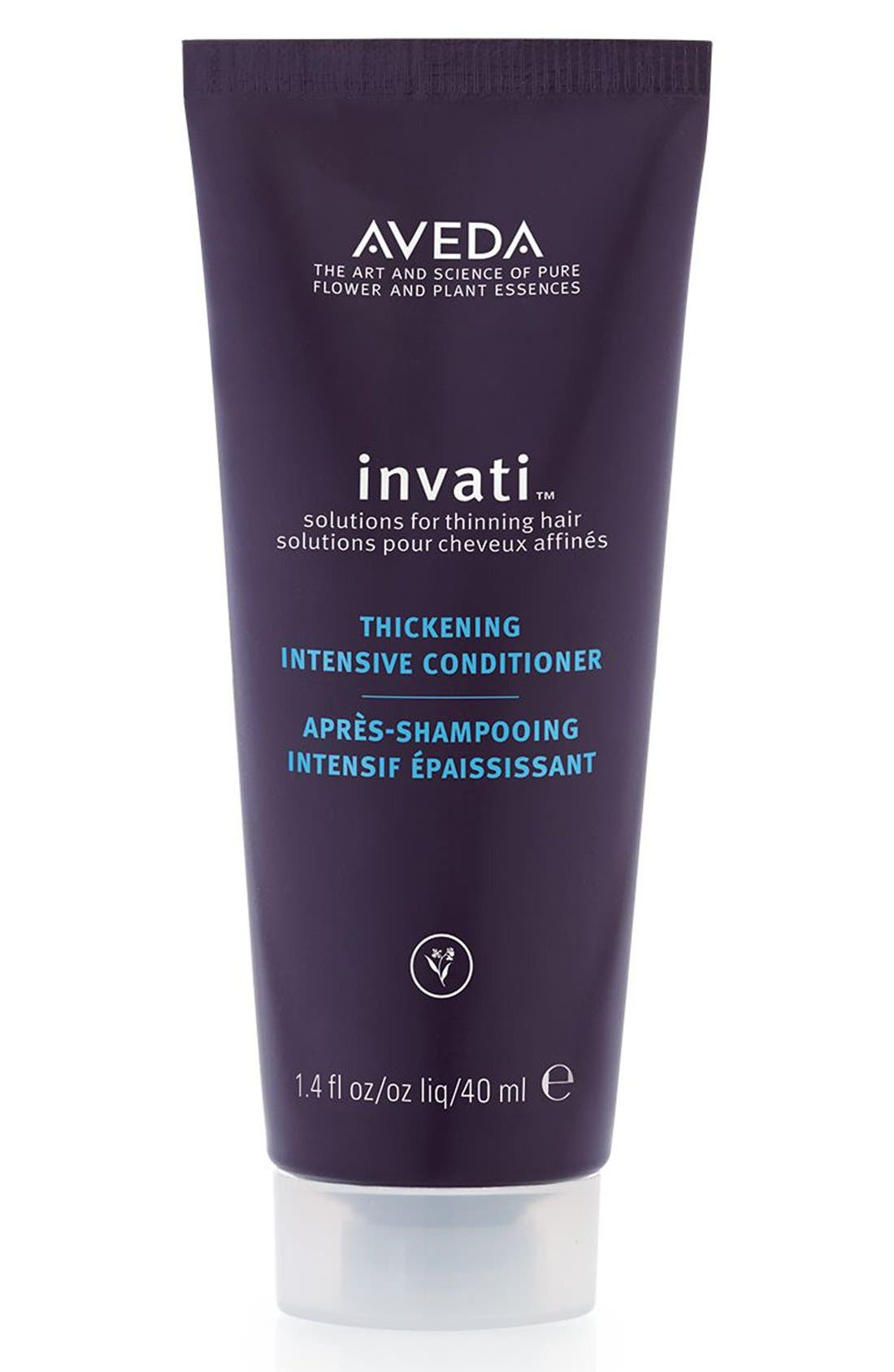 'invati<sup>™</sup>' Thickening Intensive Conditioner,                             Alternate thumbnail 3, color,                             000