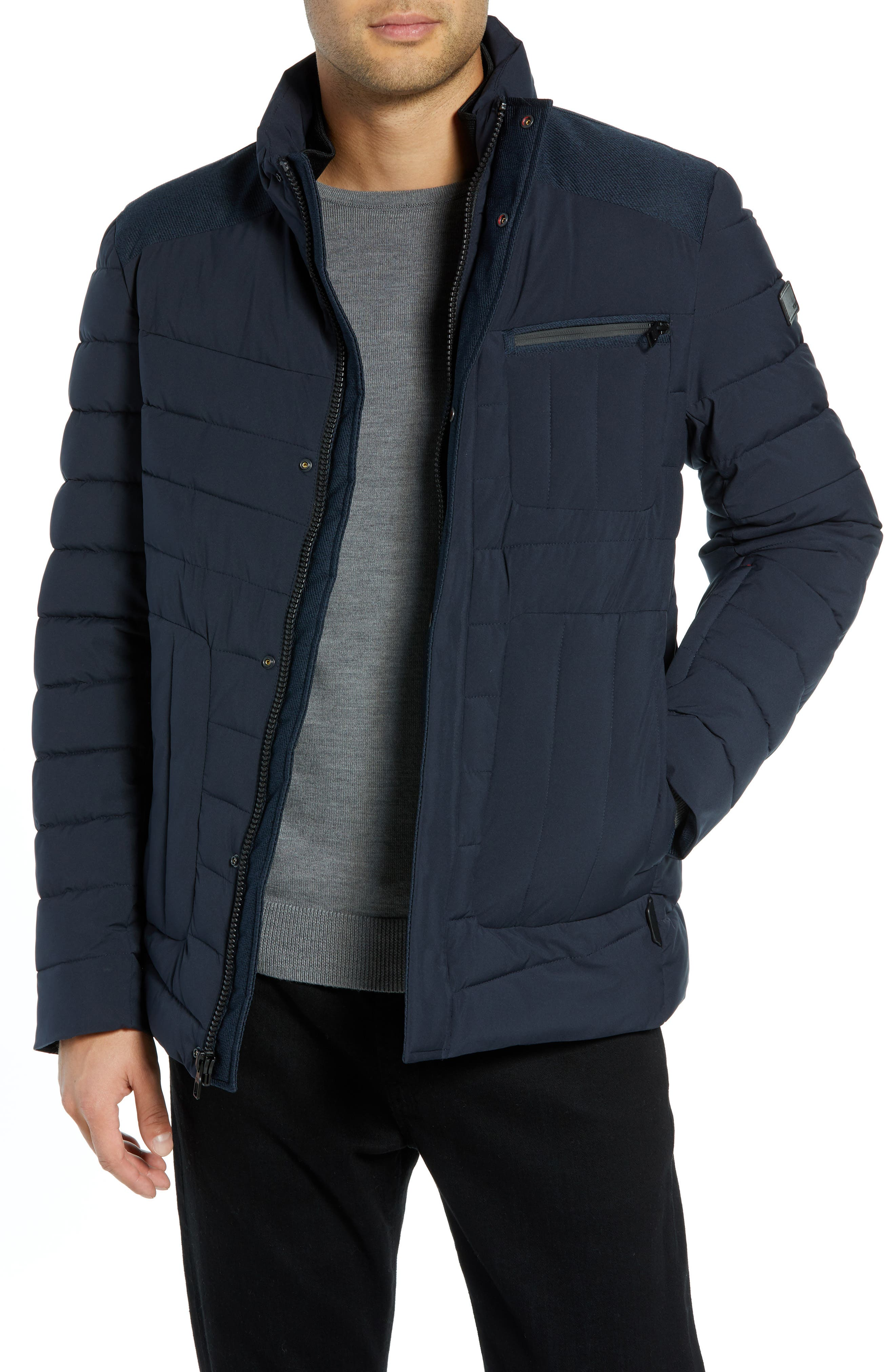 Heritage Quilted Jacket,                             Main thumbnail 1, color,                             410