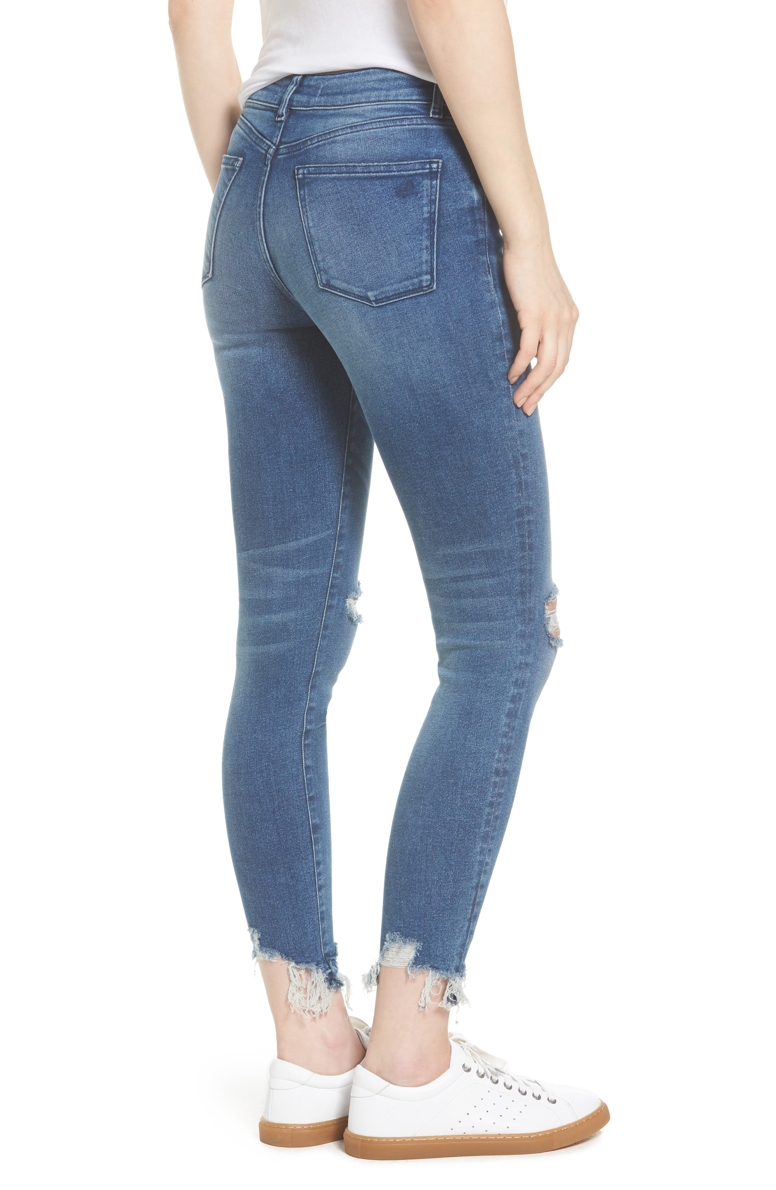 Farrow Instaslim High Waist Ankle Skinny Jeans,                             Alternate thumbnail 2, color,                             430