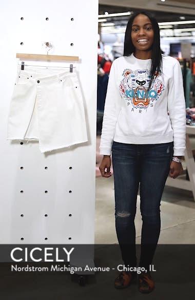 Asymmetrical Denim Skirt, sales video thumbnail