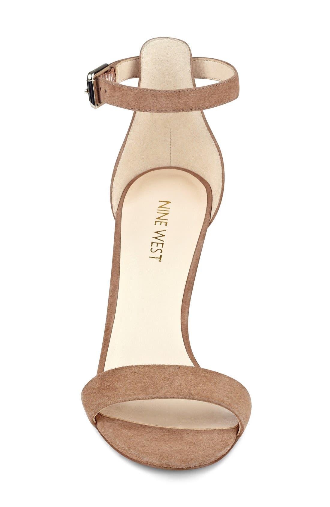 'Mana' Ankle Strap Sandal,                             Alternate thumbnail 15, color,
