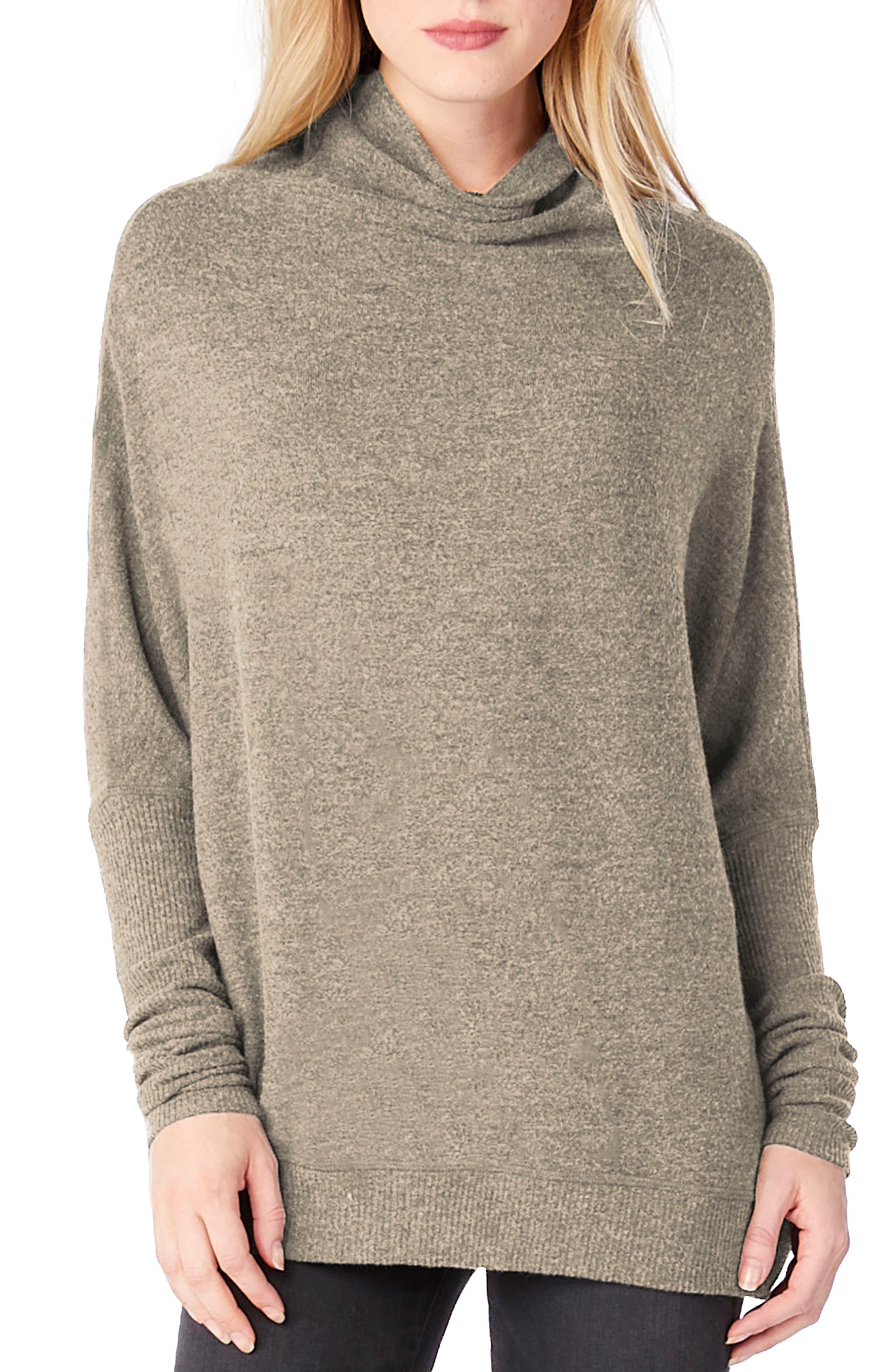 Mock Neck Dolman Shirt,                             Main thumbnail 2, color,