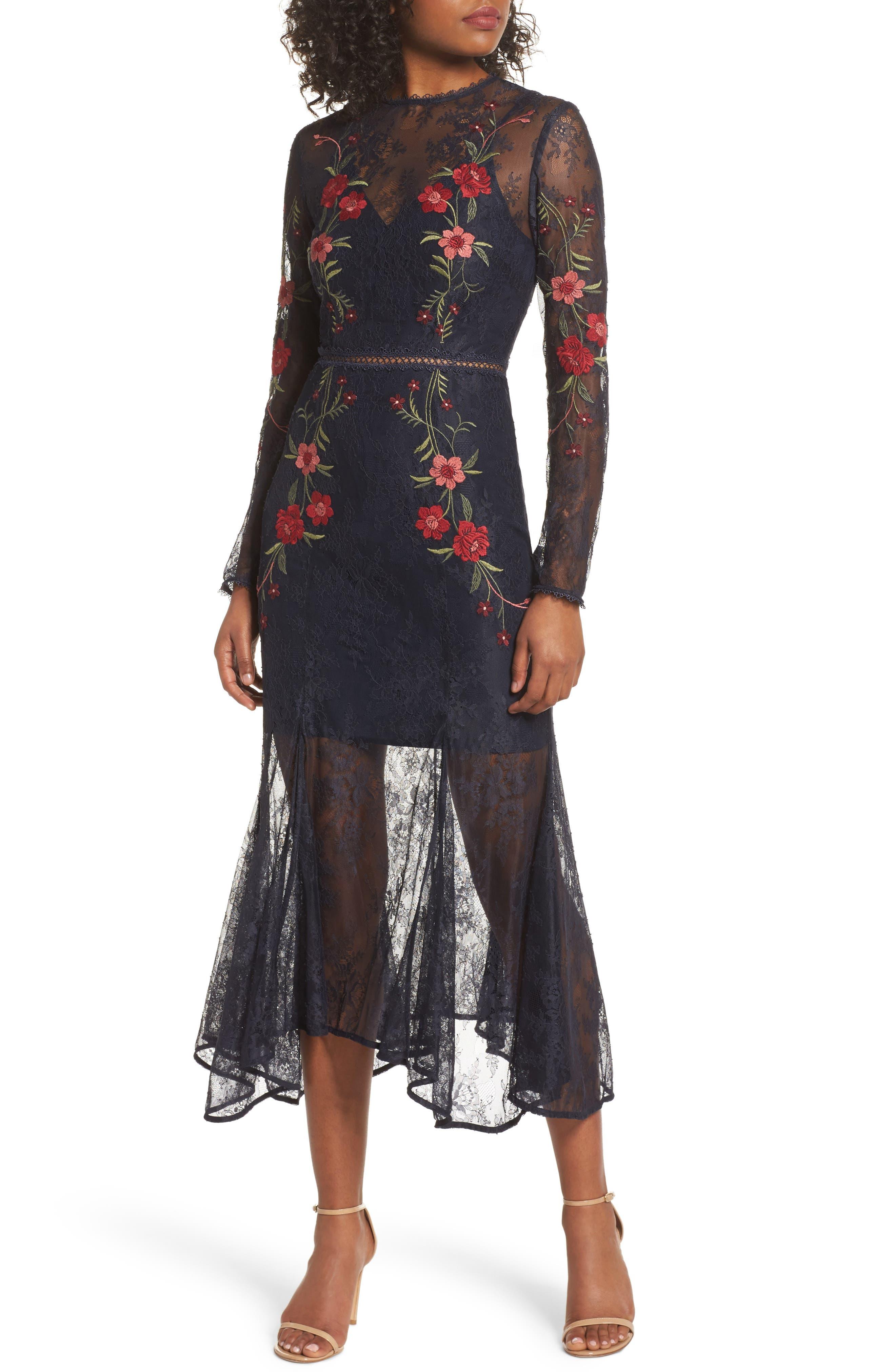 Dreamscape Gown,                         Main,                         color, 410