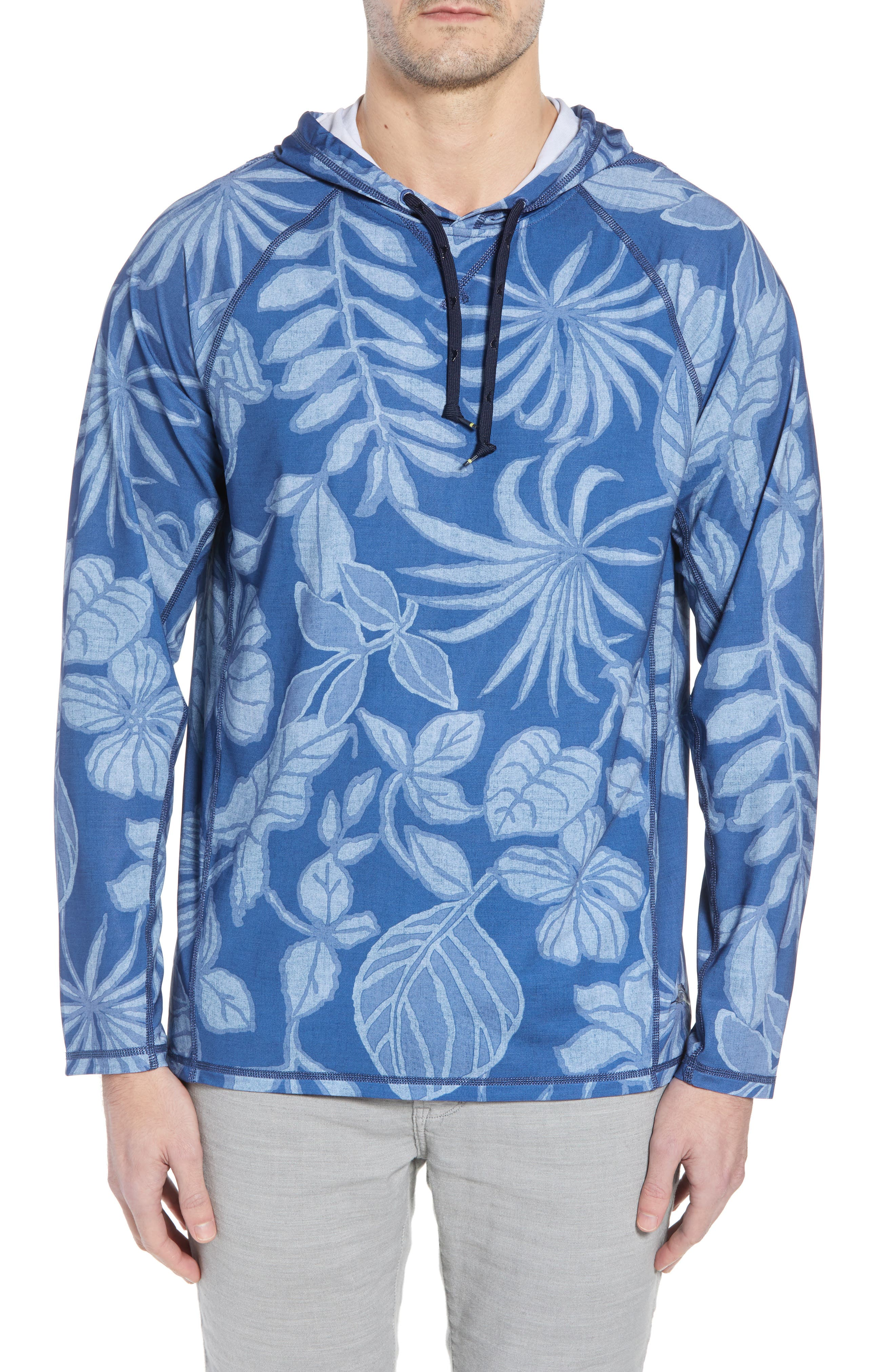 Playa Mambo Tech Hoodie,                         Main,                         color, ATLANTIC