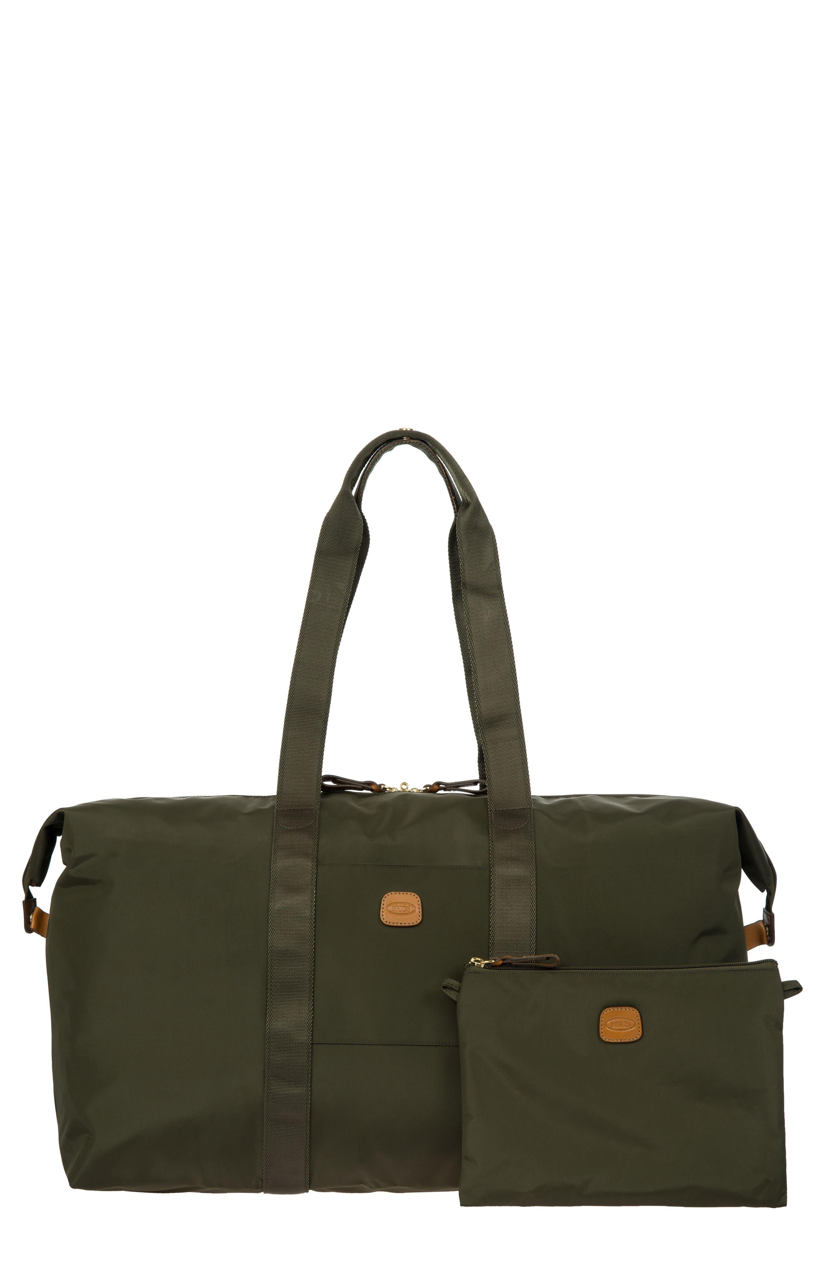 X-Bag 22-Inch Folding Duffel Bag,                         Main,                         color, OLIVE