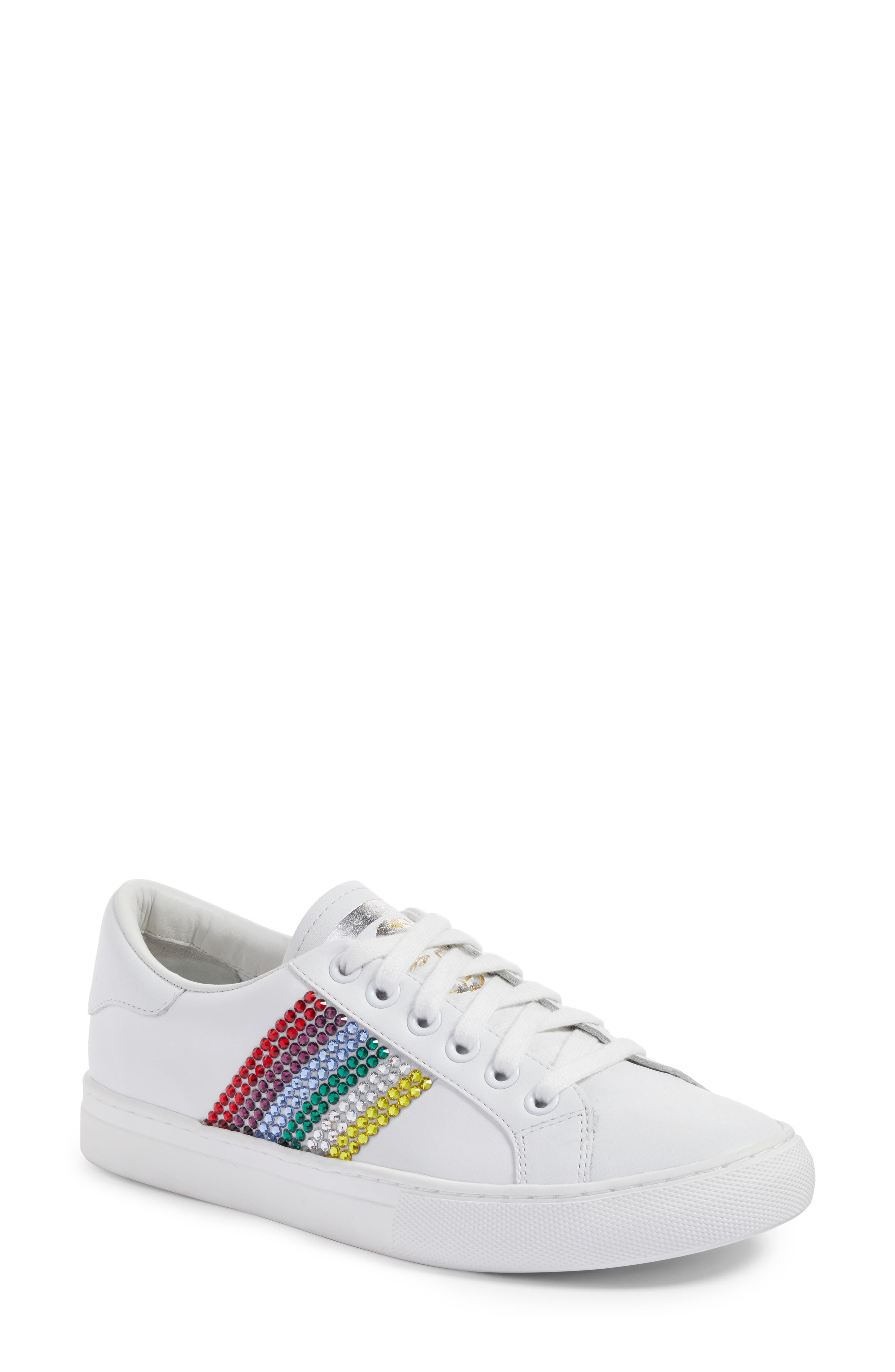 Empire Embellished Sneaker,                             Main thumbnail 2, color,