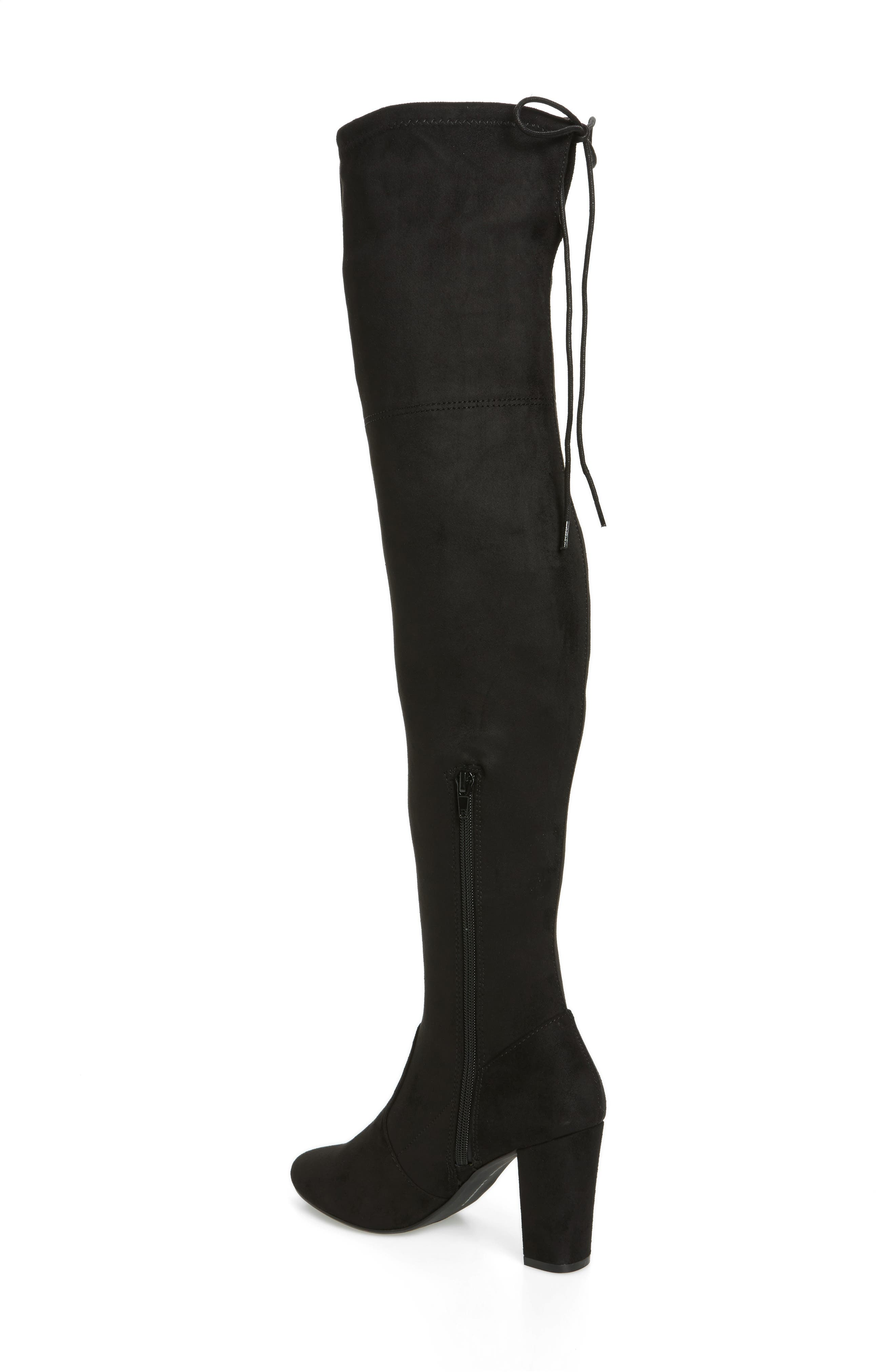 Brinna Over the Knee Boot,                             Alternate thumbnail 2, color,                             001