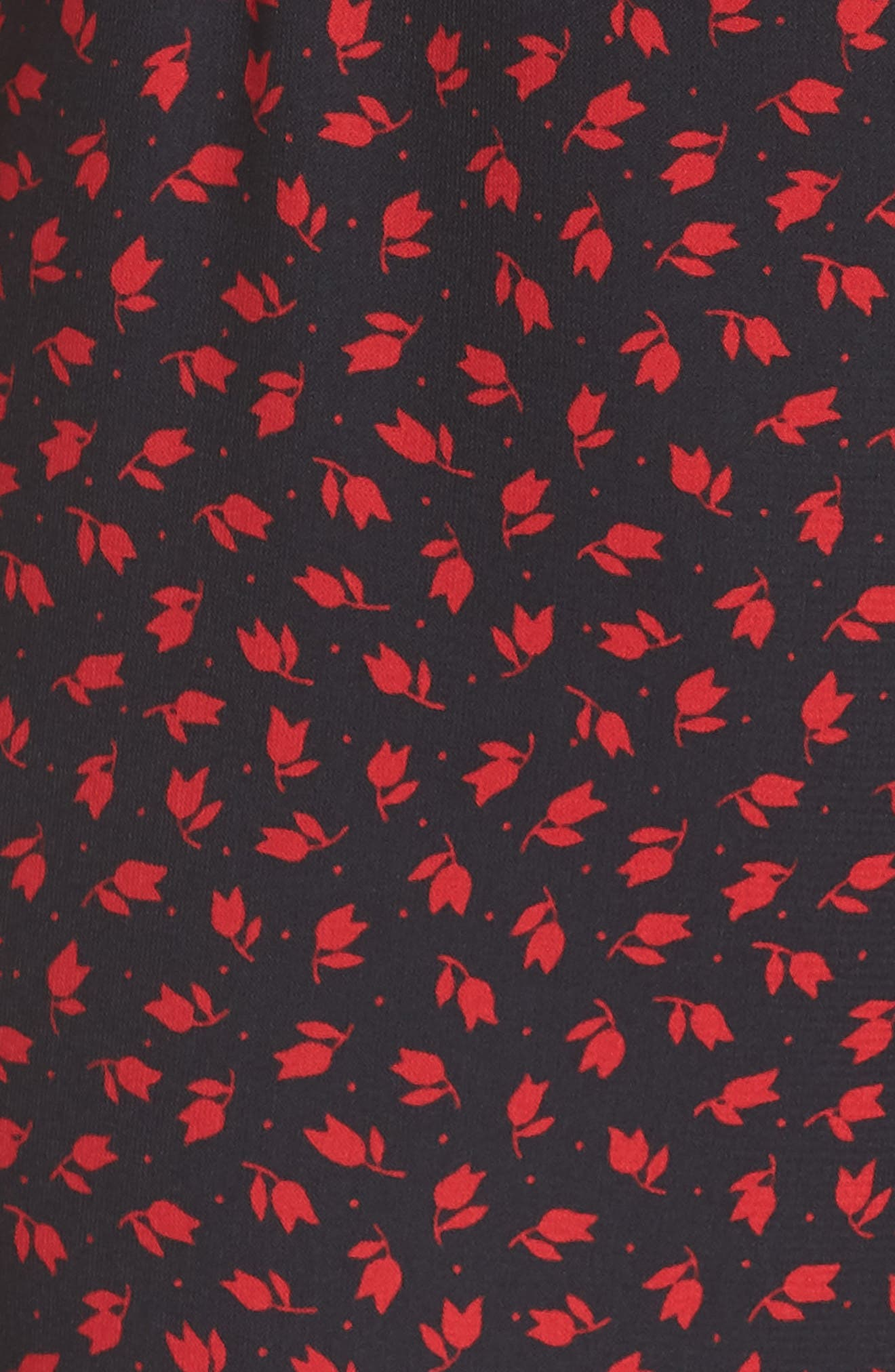 Vivianna Crop Jumpsuit,                             Alternate thumbnail 6, color,                             001