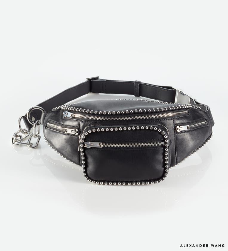 Designer belt bags.